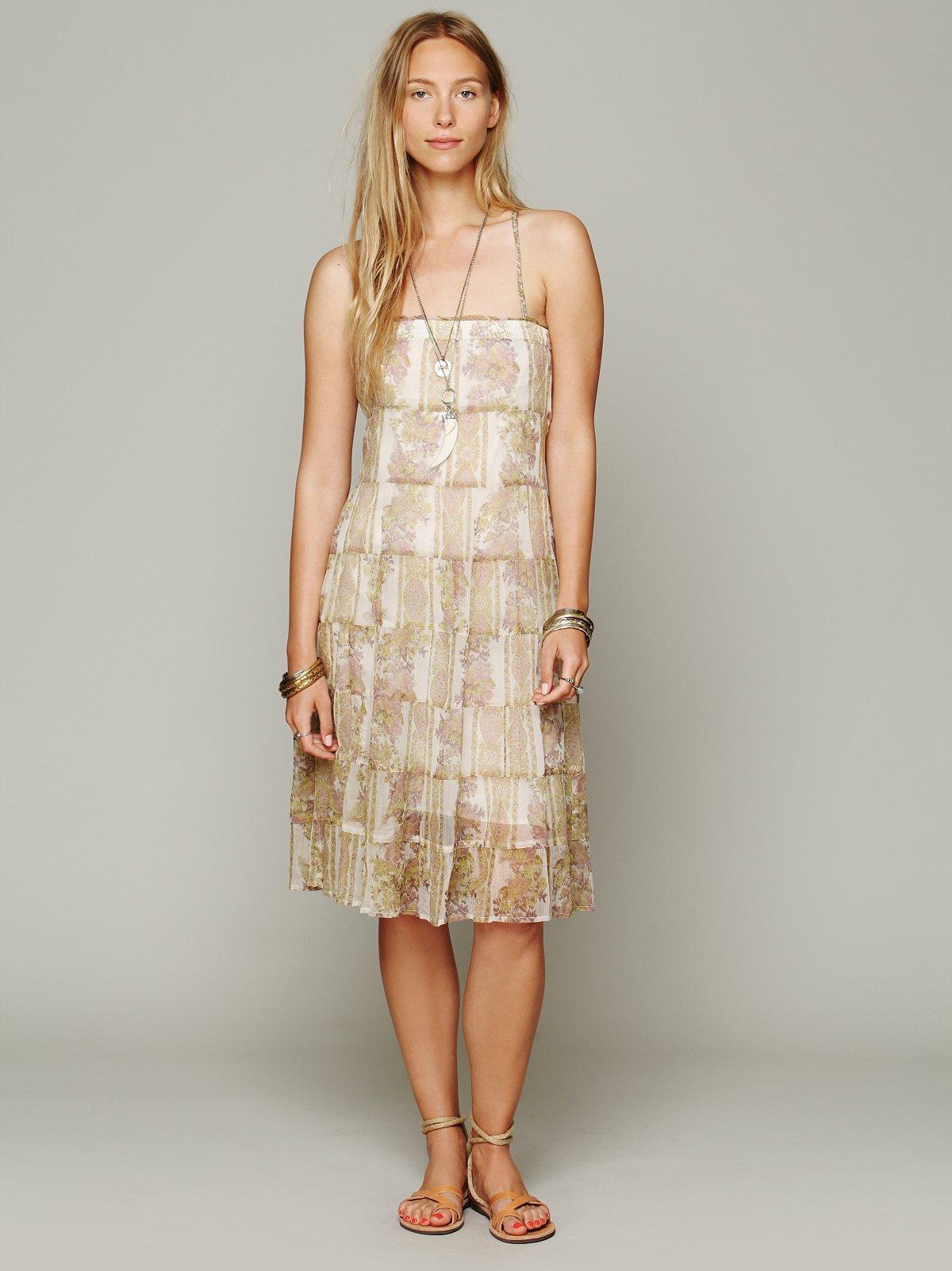 Jessie's Floral Swing Dress