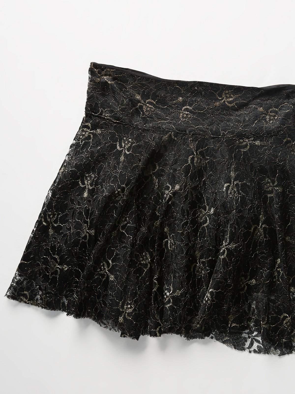 Vintage 1980s Lace Skirt