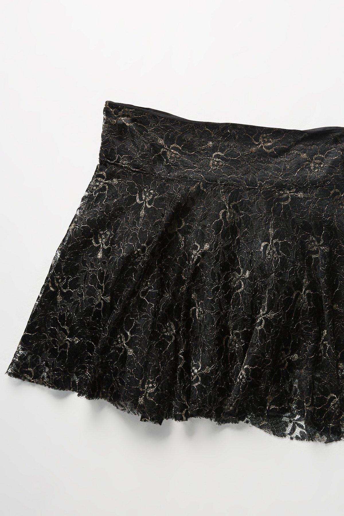 Vintage 1980s Lace Skirt