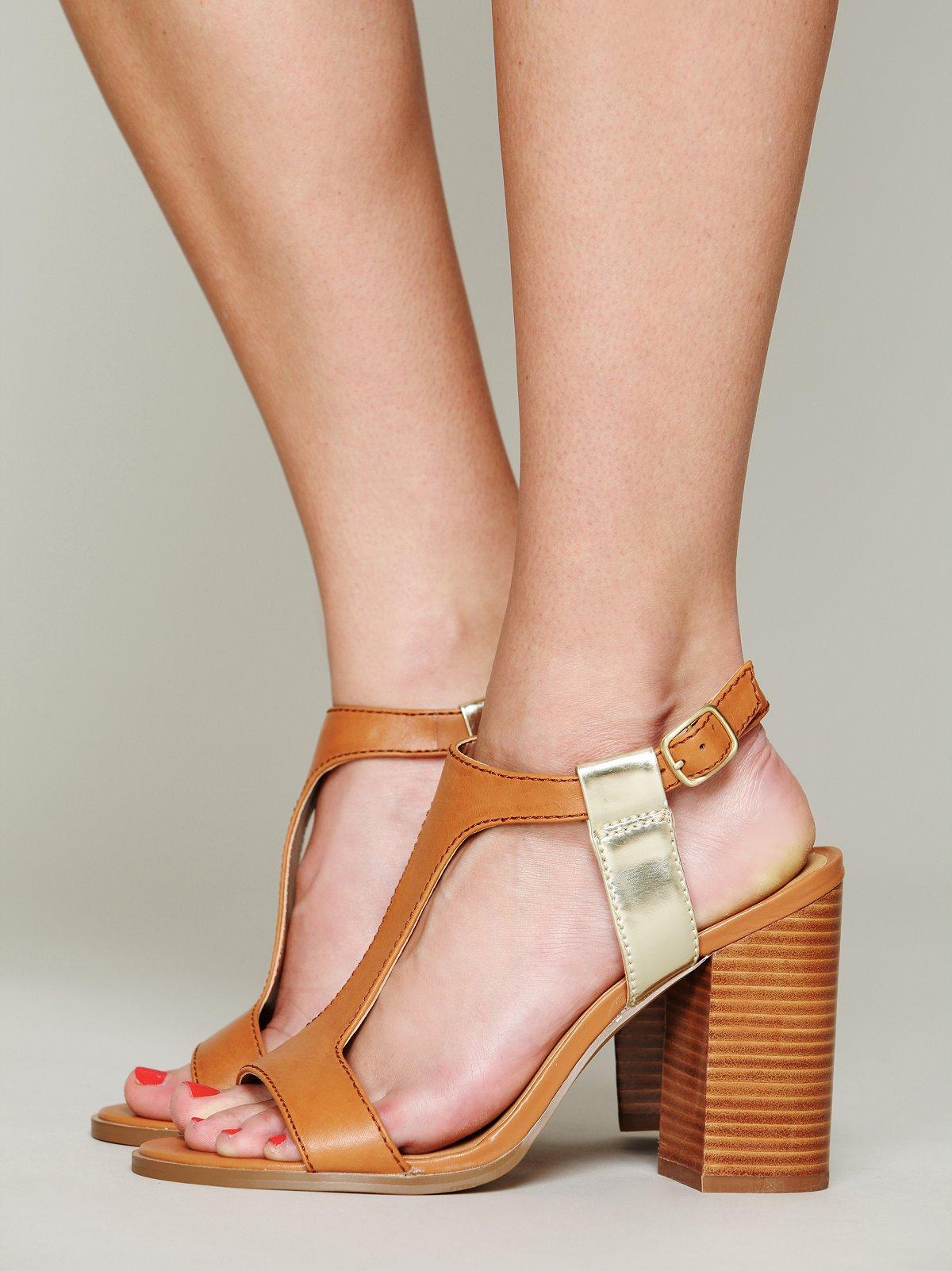 Brooke T-strap Heel