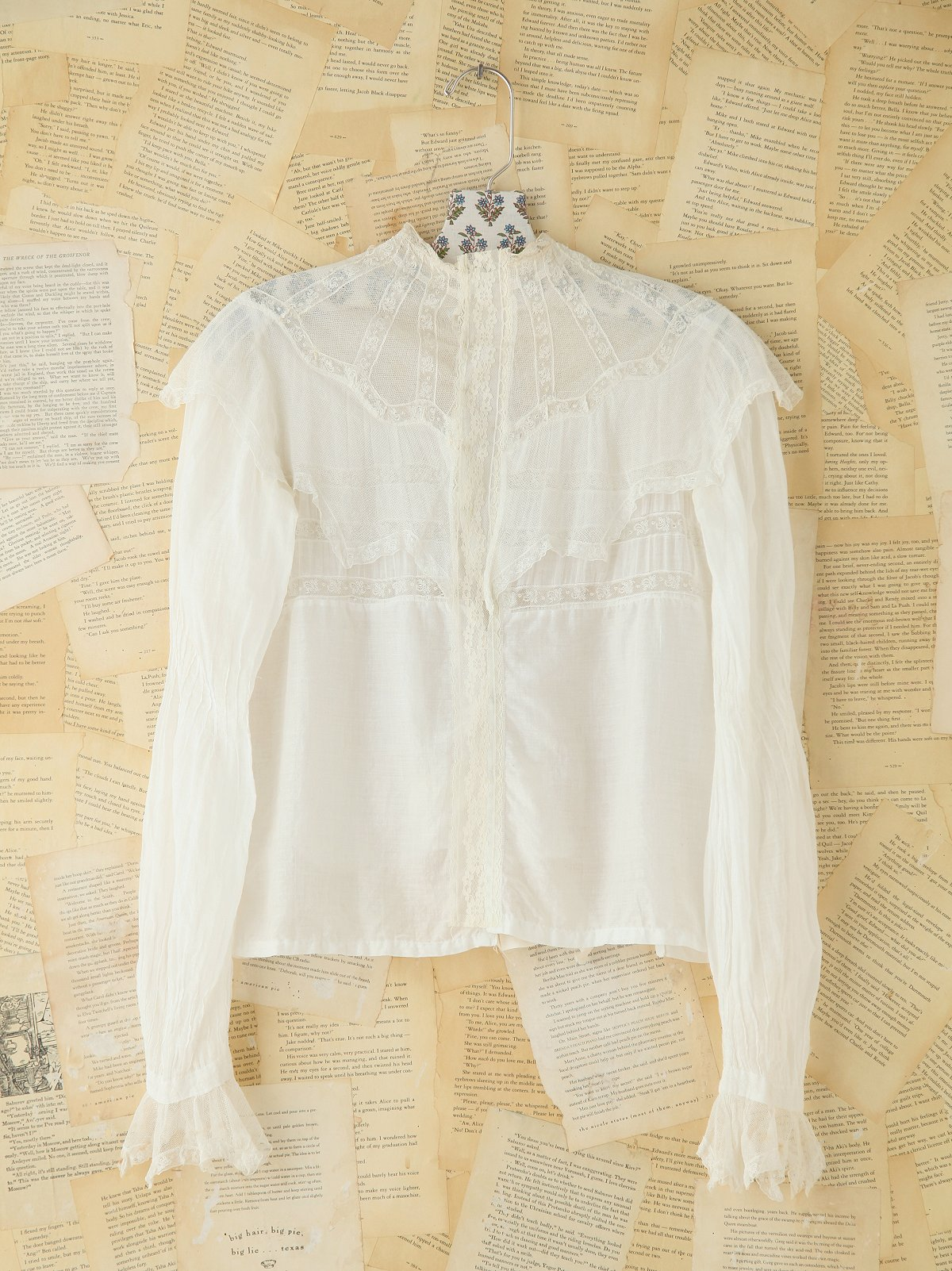 Vintage Cotton and Lace Top