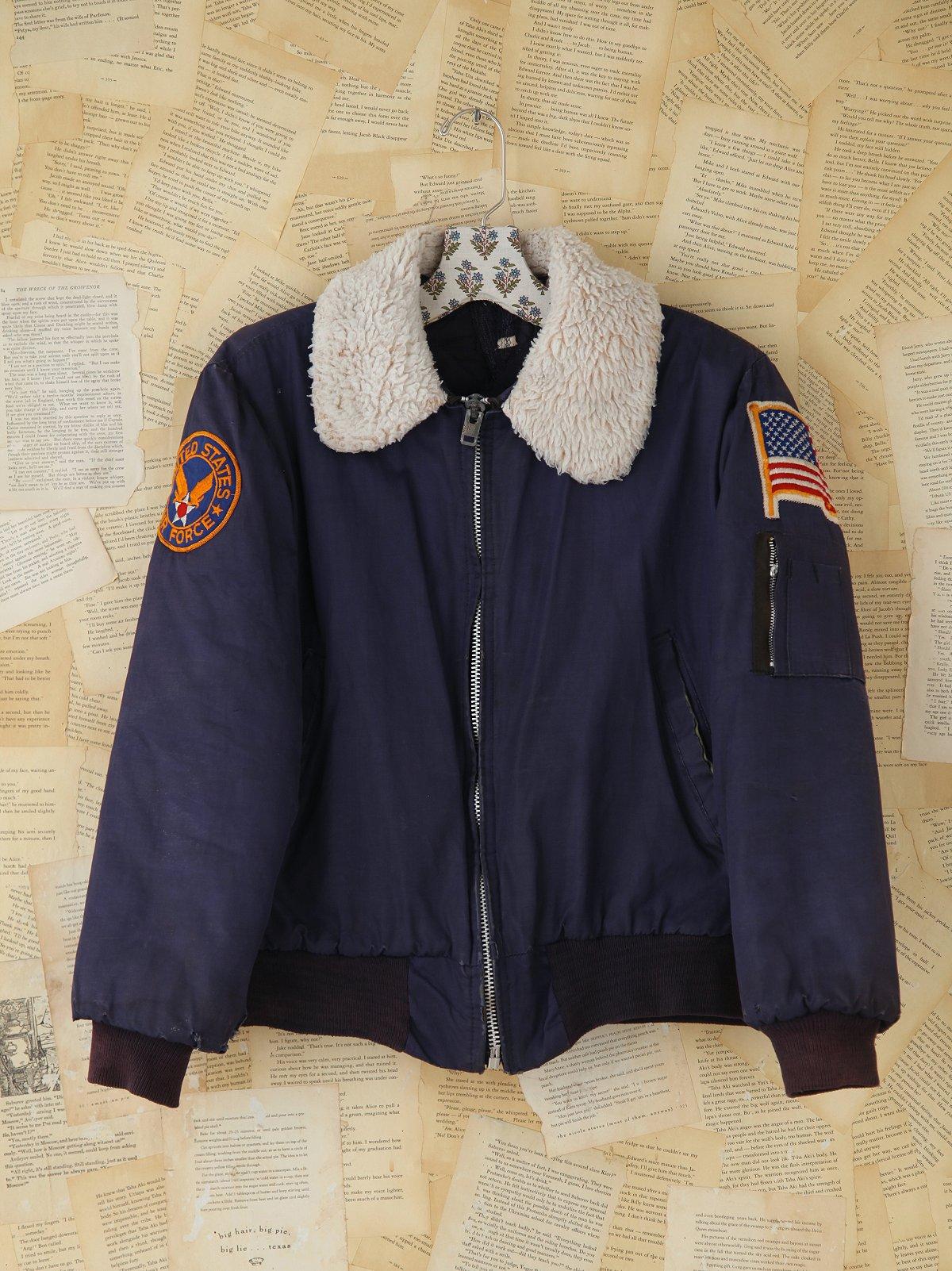Vintage Air Force Bomber Jacket