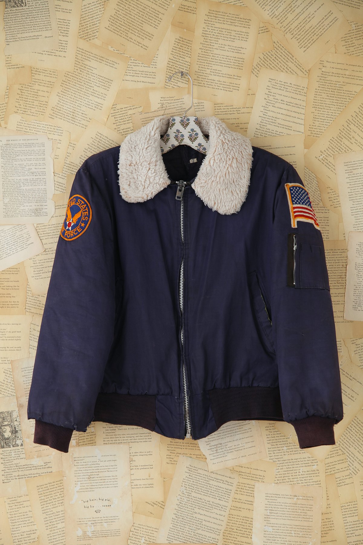 Vintage Air Force Bomber Jacket