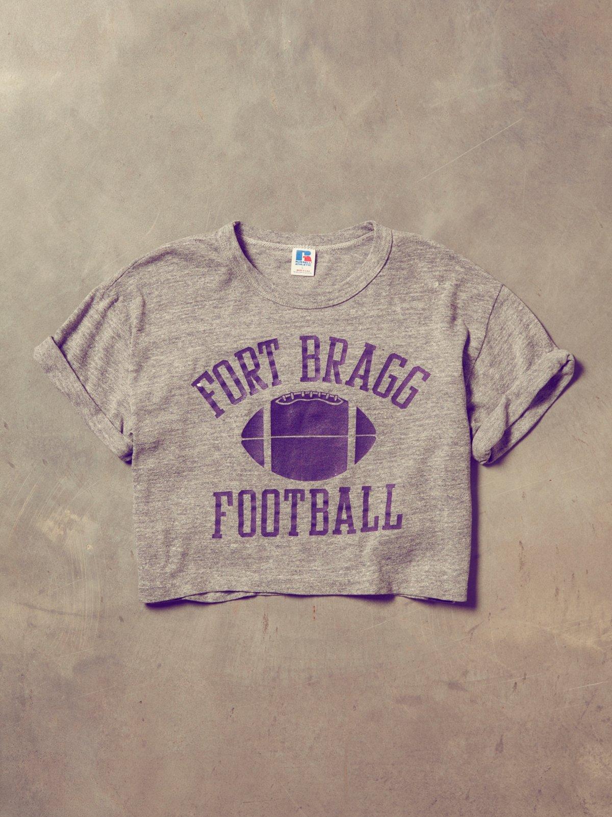 Vintage Fort Bragg Crop Tee