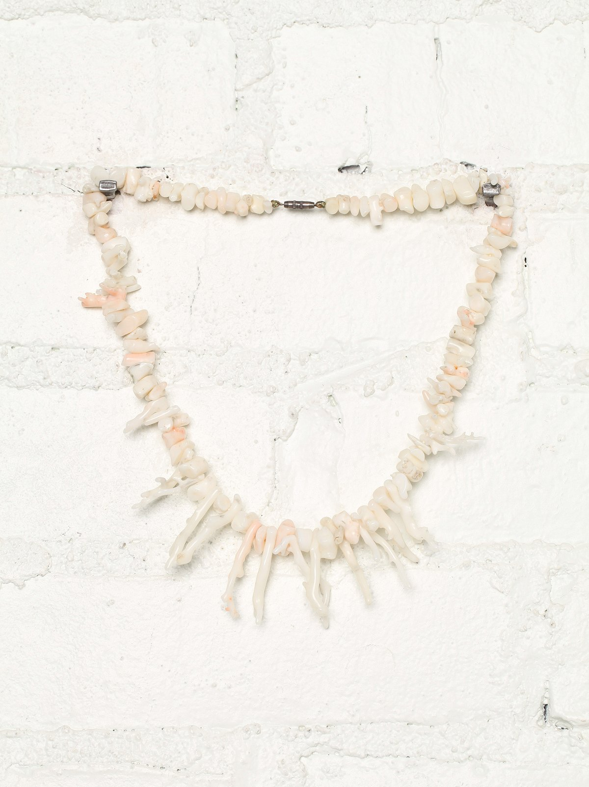 Vintage Ivory Coral Necklace