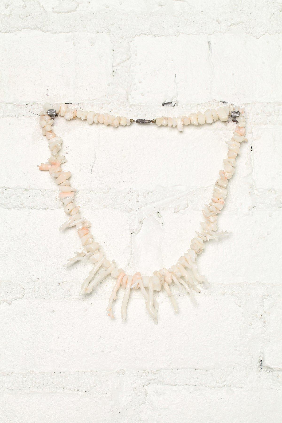 Vintage Ivory Coral Necklace