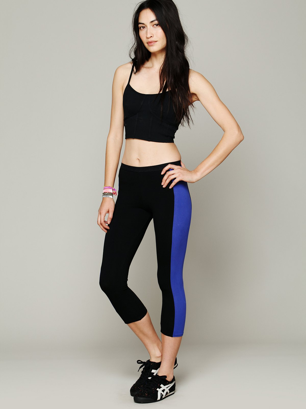 Colorblock Crop Legging