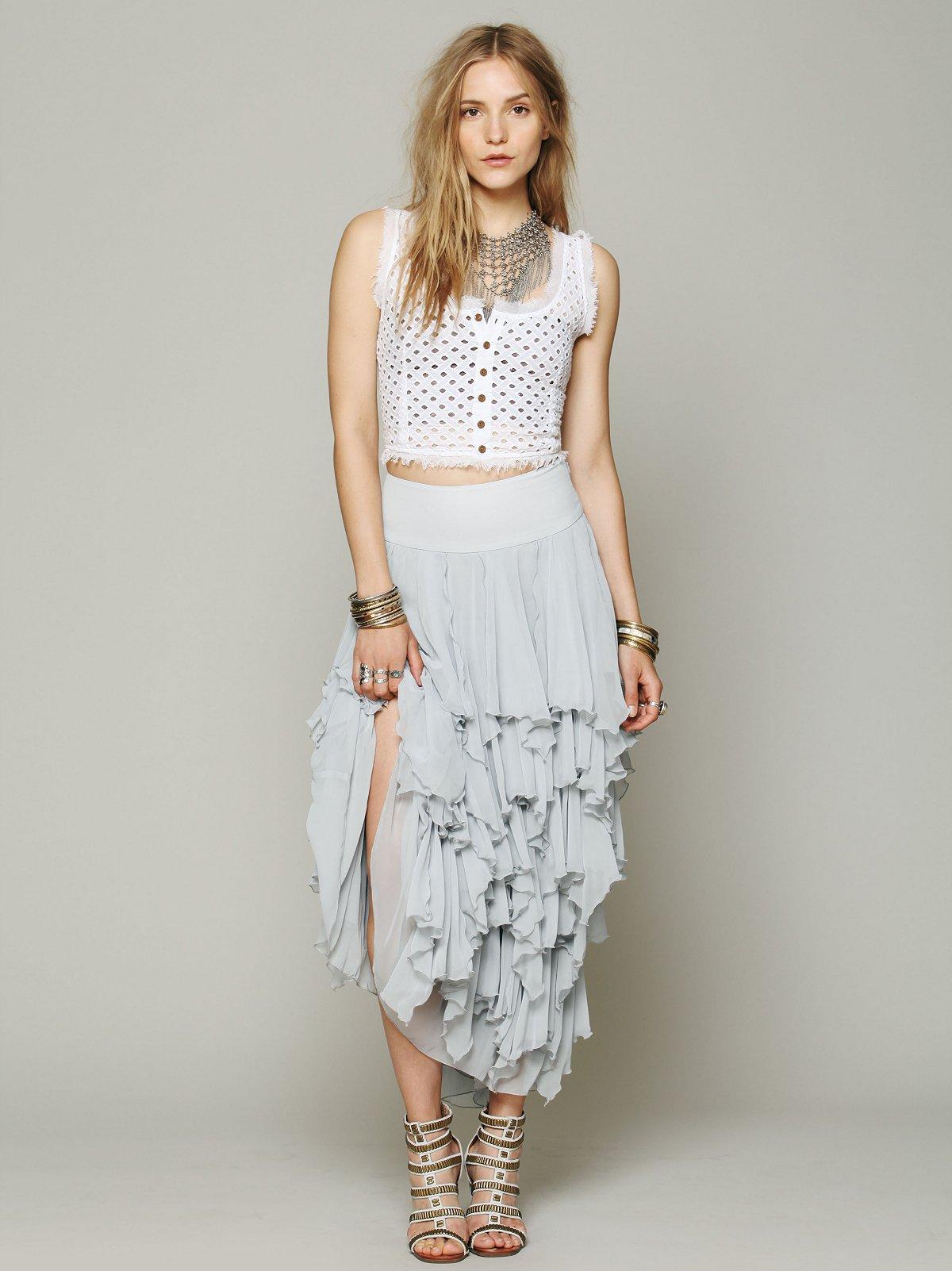 5 Layer Maxi Skirt
