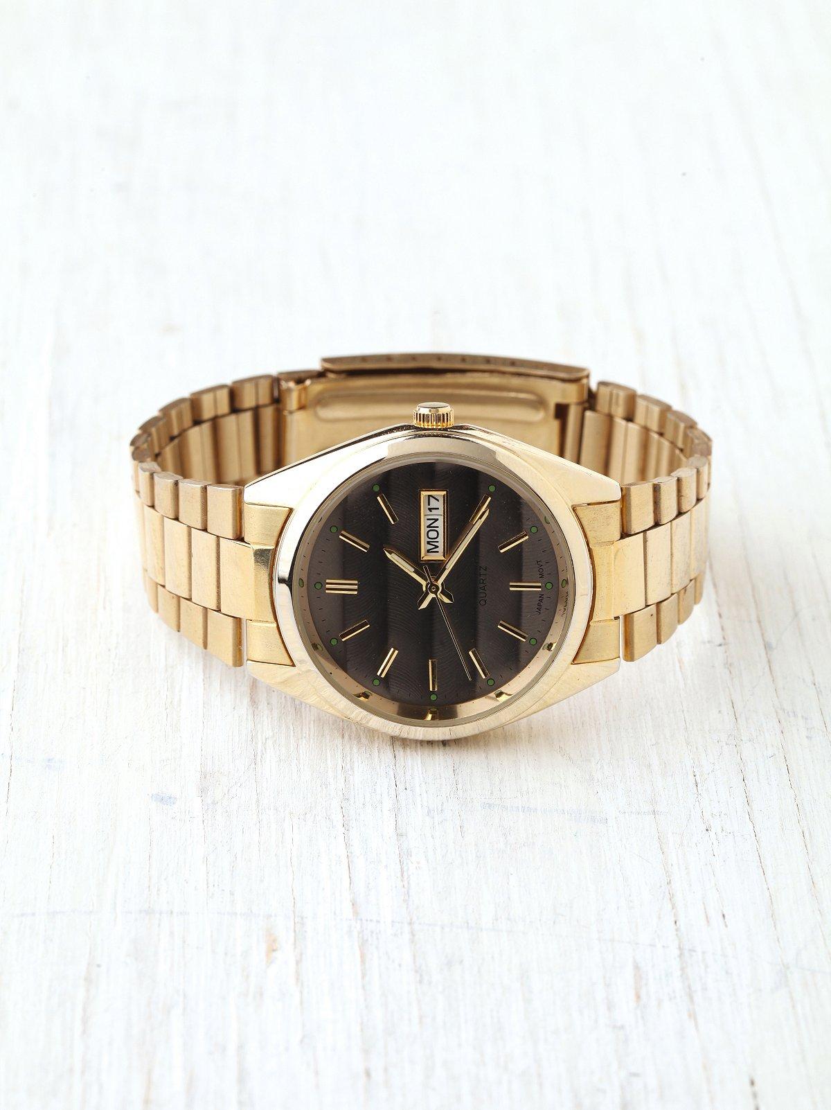 Oxford Metal Link Watch