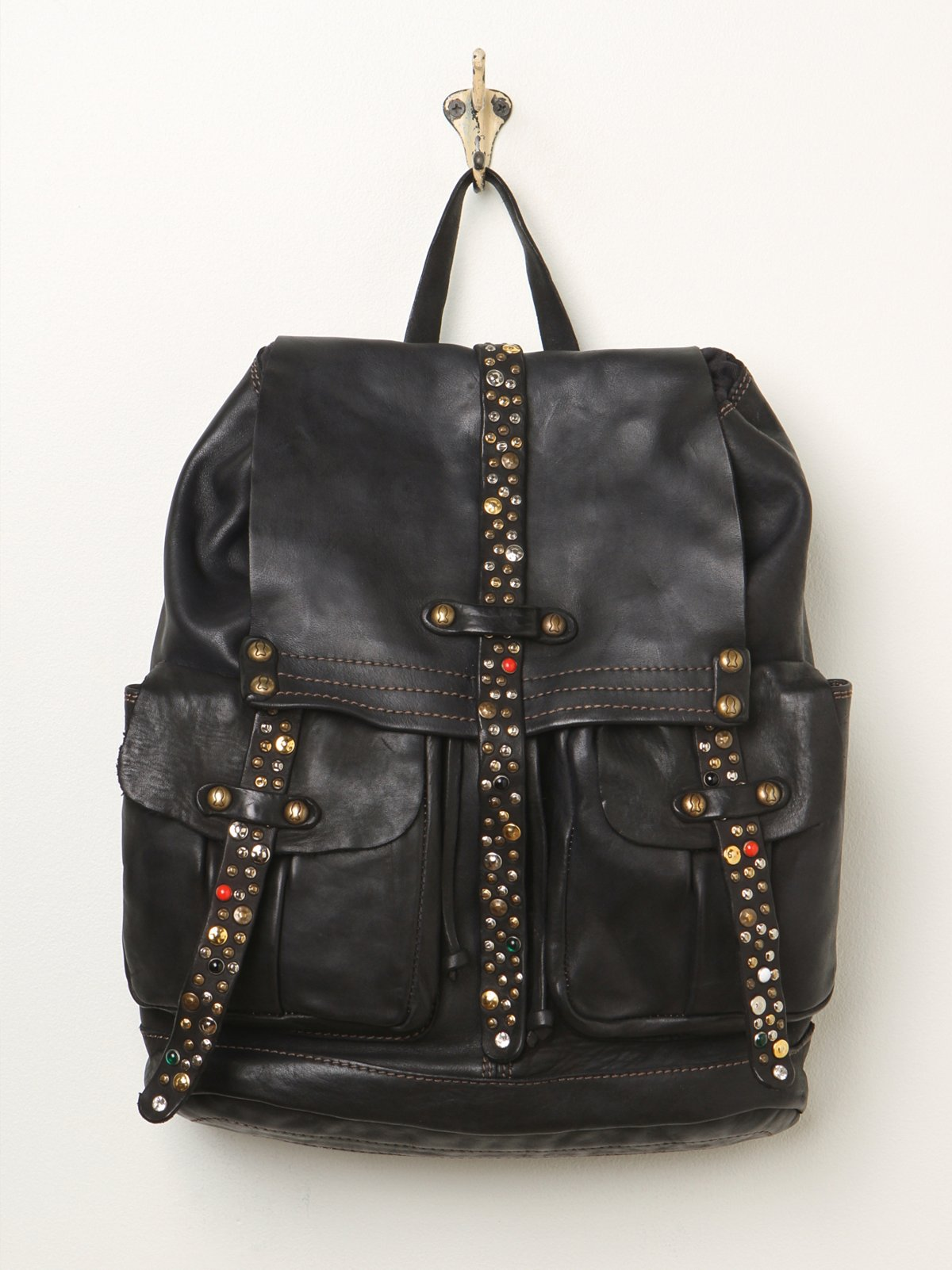 Bronte Leather Backpack