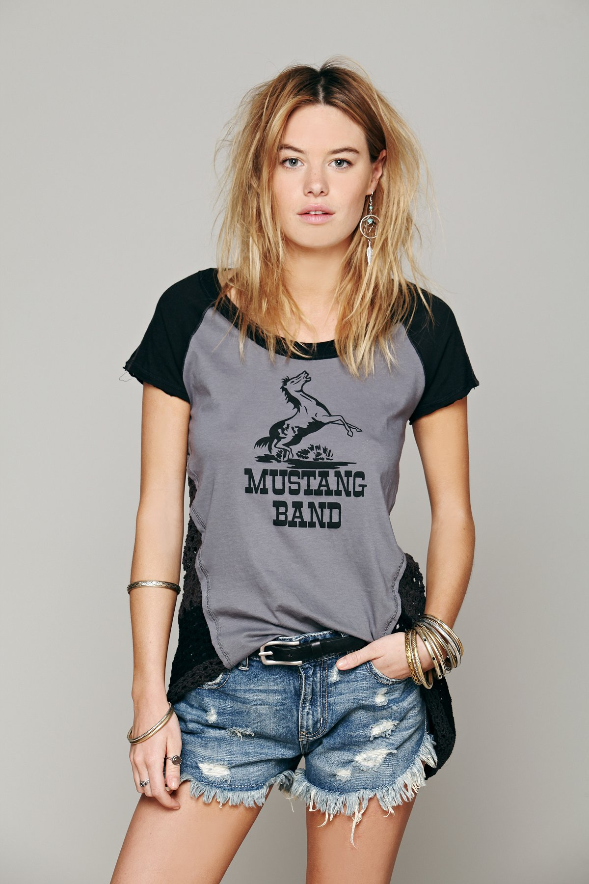 We The Free Mustang Tee
