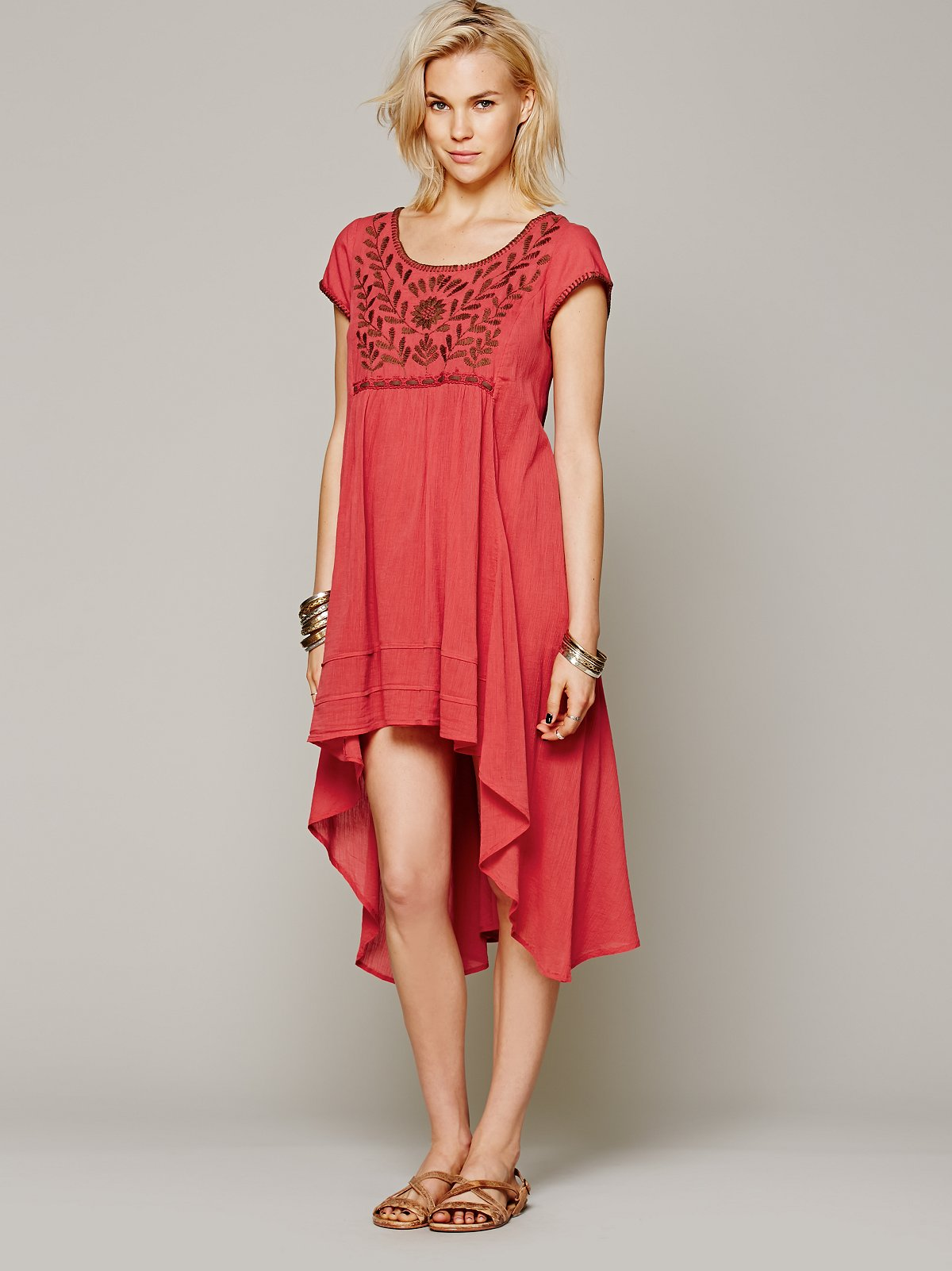Marina Embroidered Dress