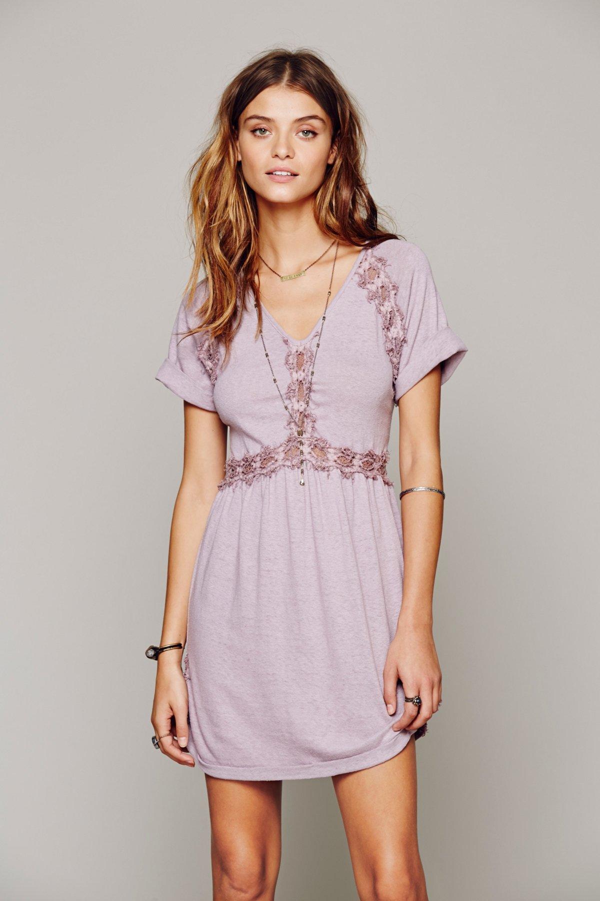 Silk Noil Lace Tunic