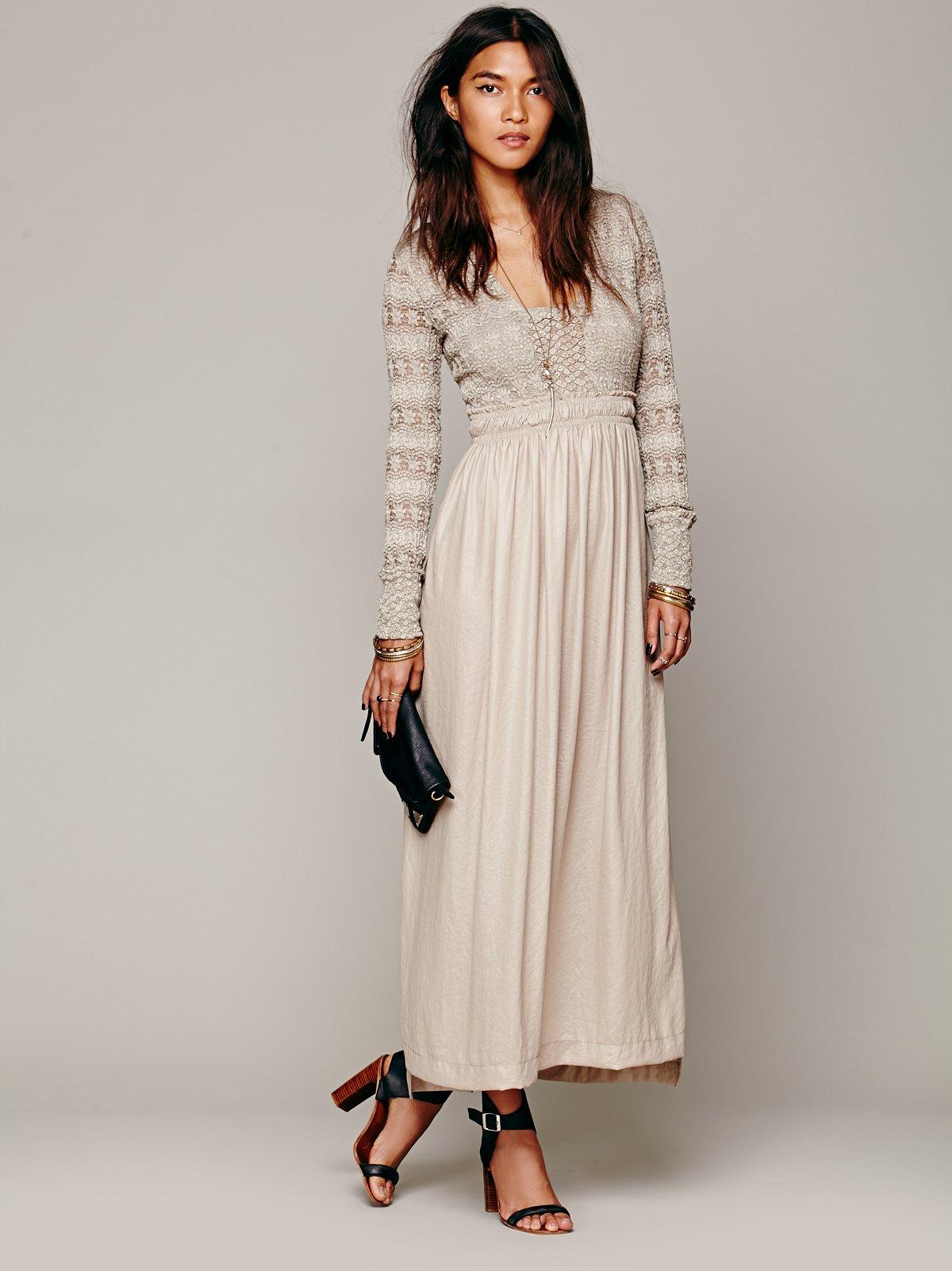 Fair Maiden Maxi Dress