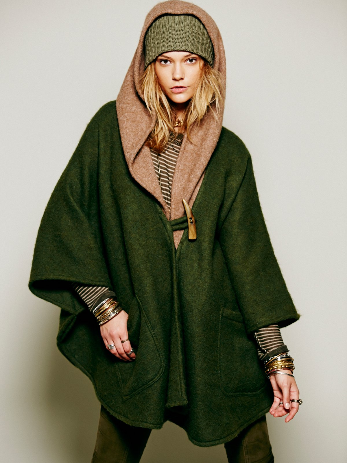 Cult Of Beauty Hooded Cloak