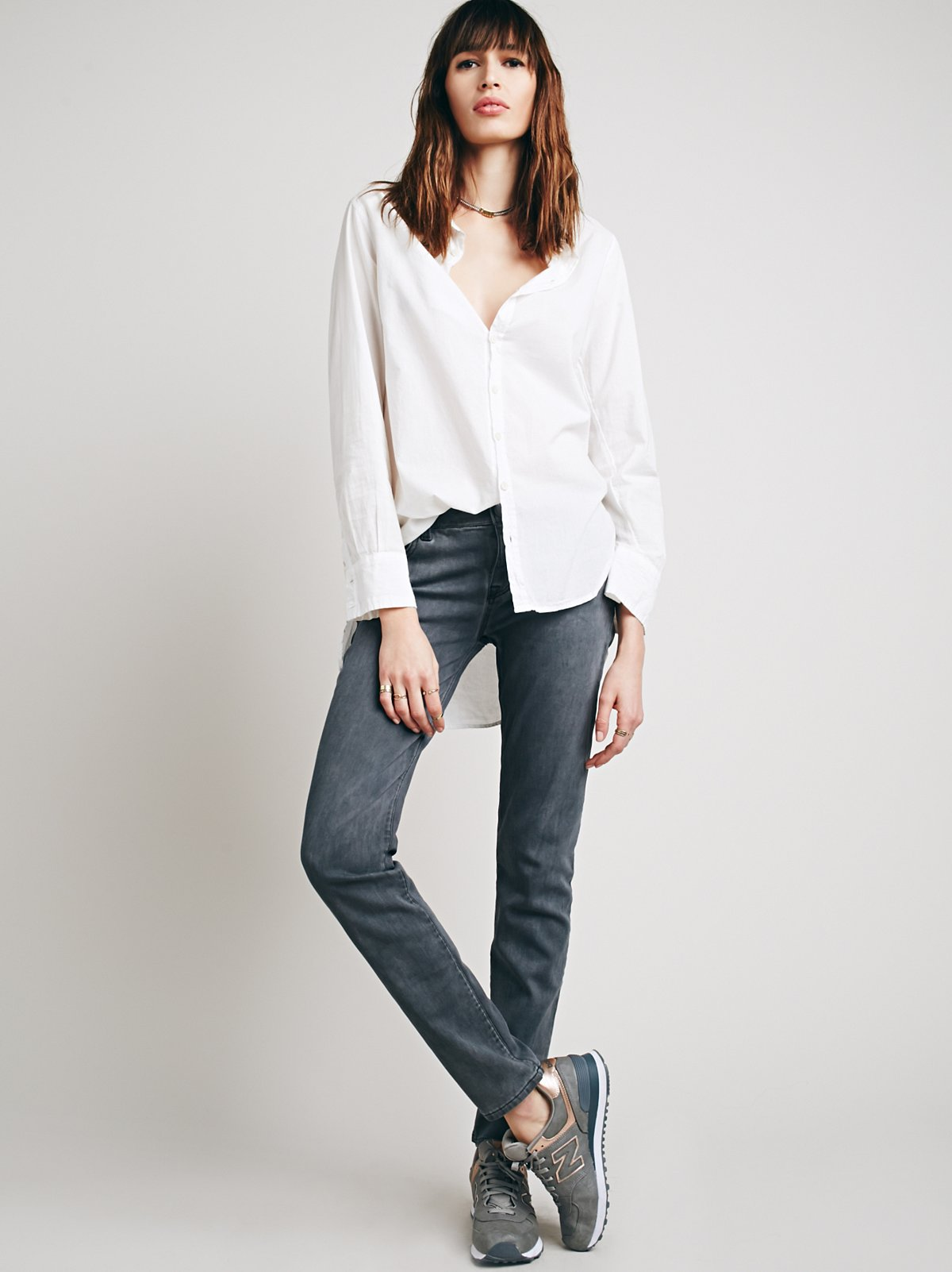 Low Rise Relaxed Skinny