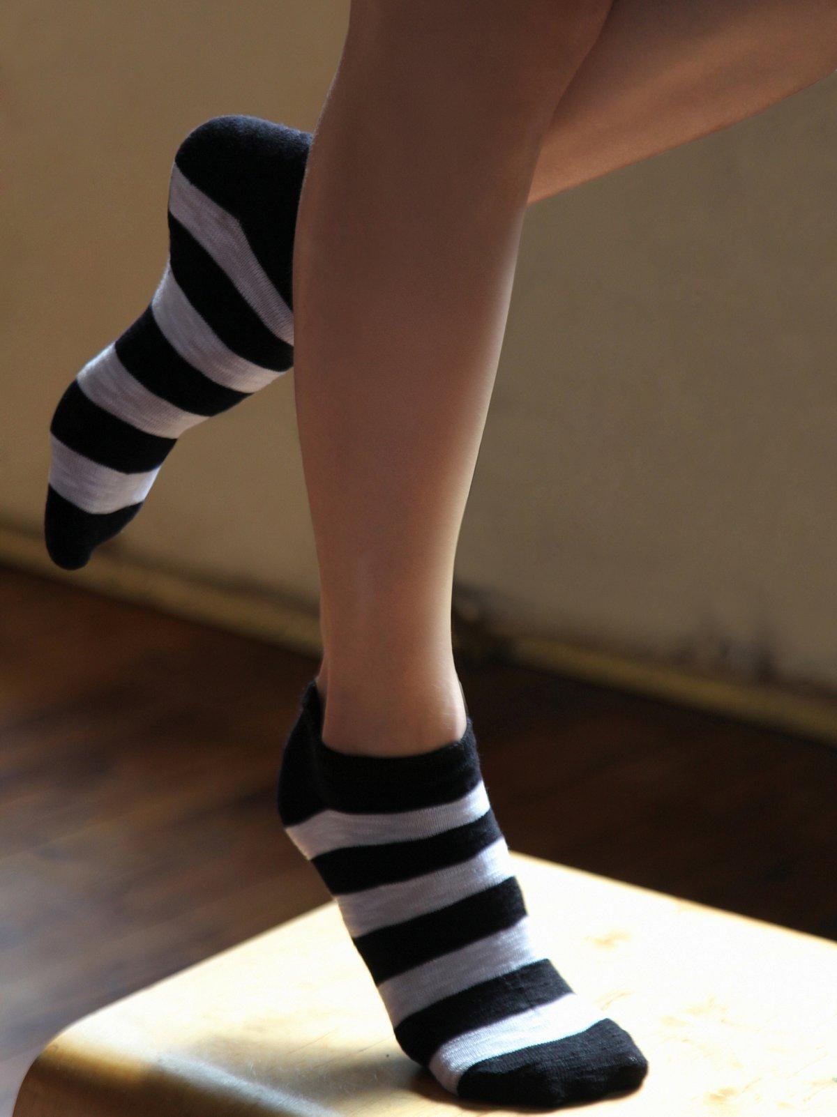 Striped Anklet 6 Pack