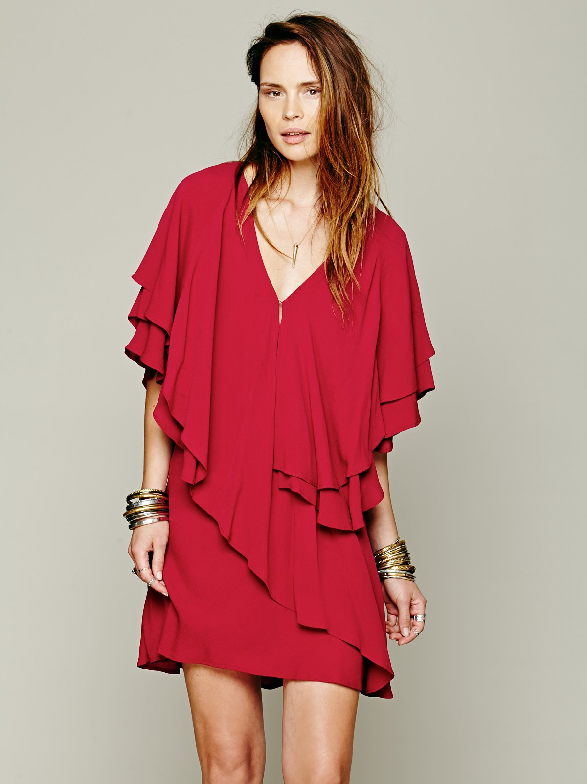 Shamita Ruffle Dress