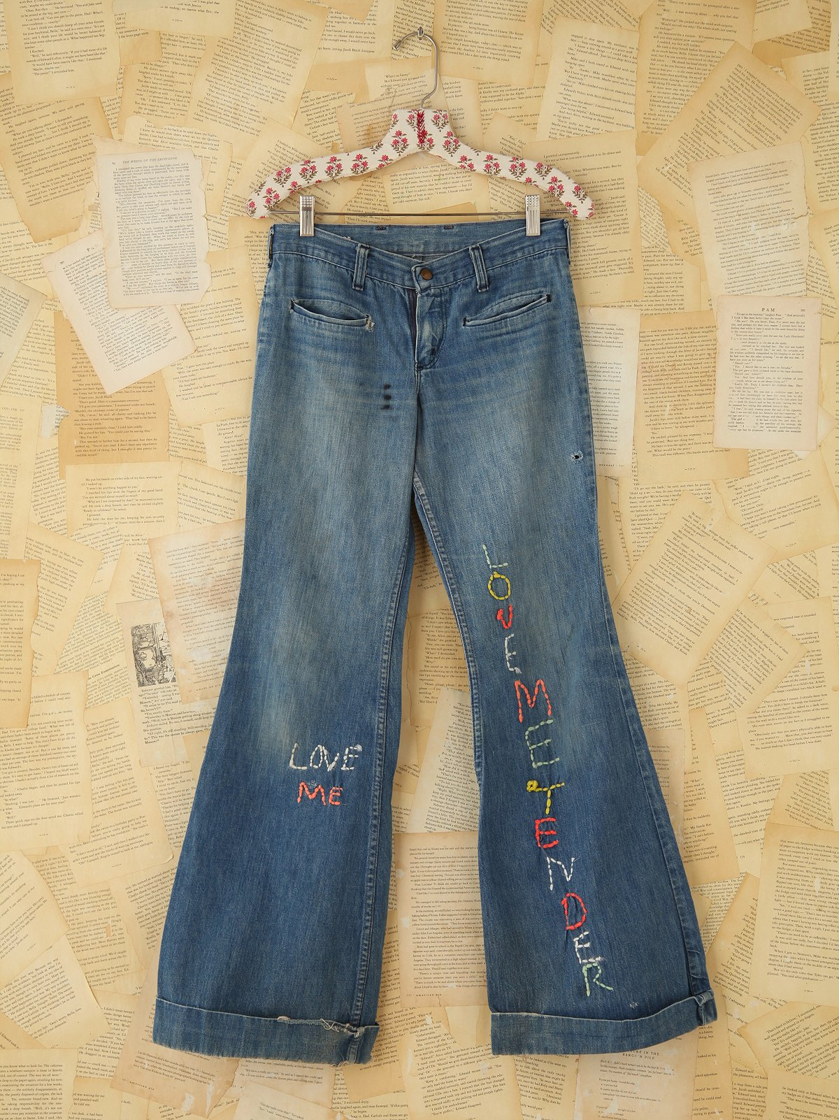 Vintage Wrangler Embroidered Flares