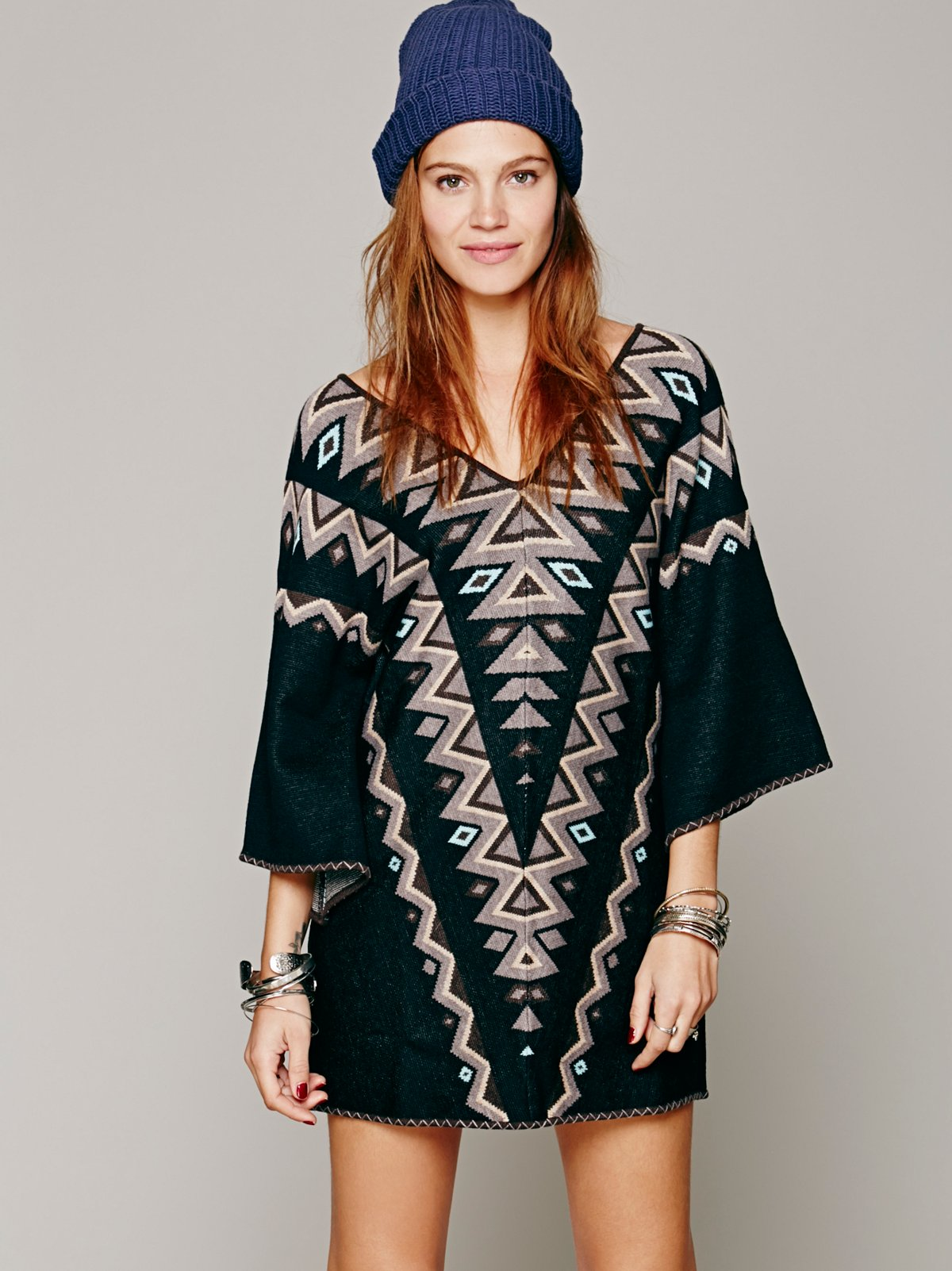 Kilm Long Sleeve Sweater Dress