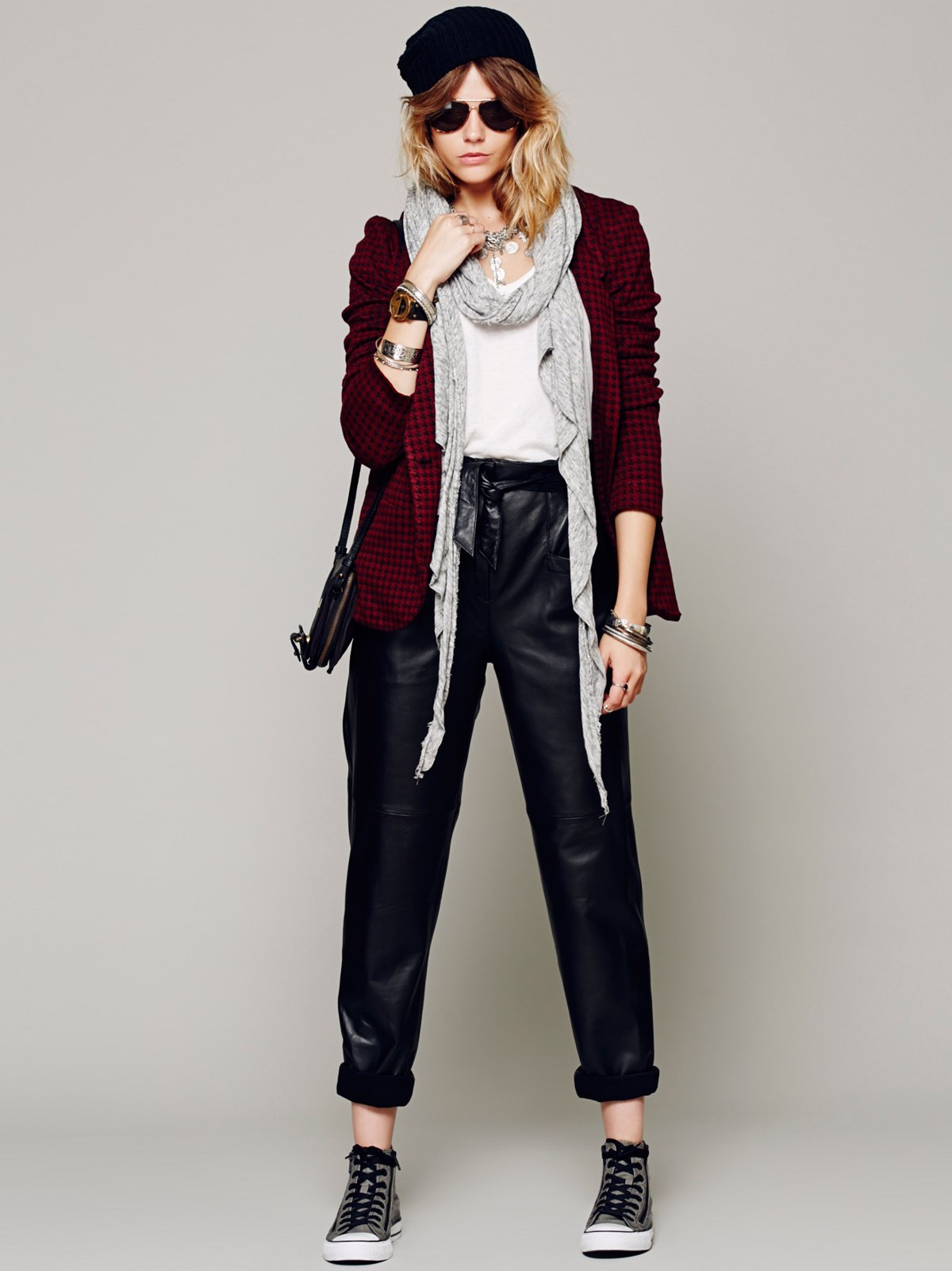 Marnie Leather Pant