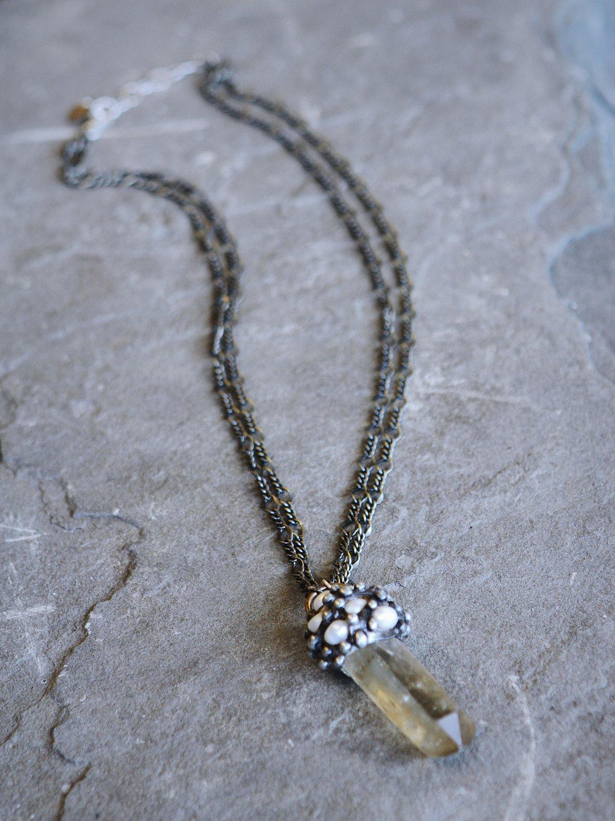 Pearl Cluster Crystal