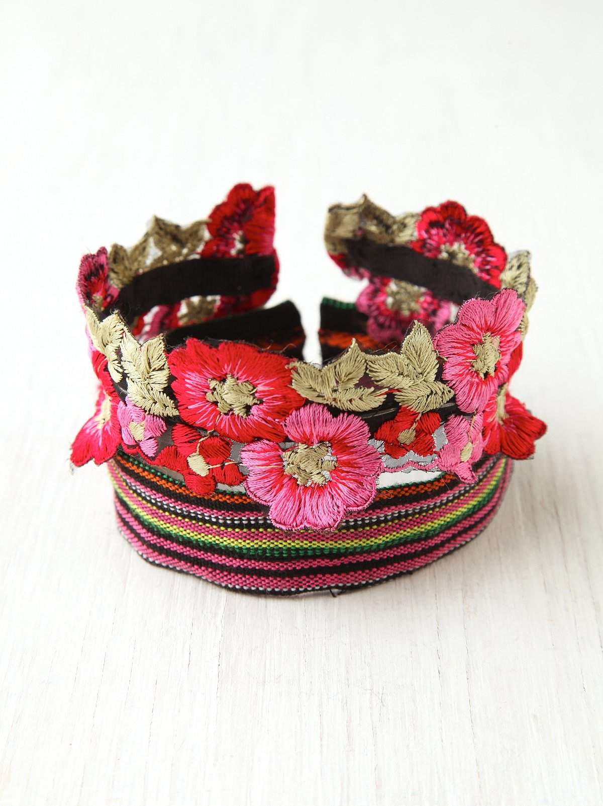 Floral Bun Band