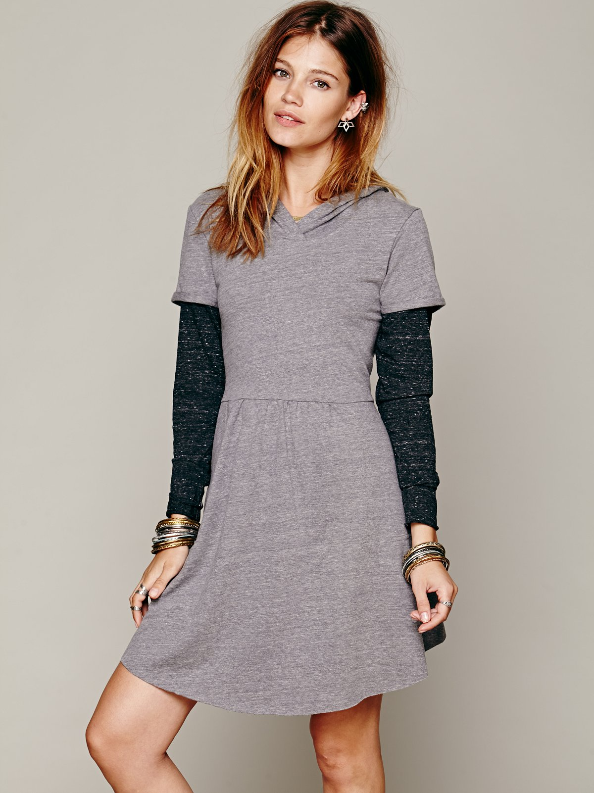 Be True Hoodie Dress