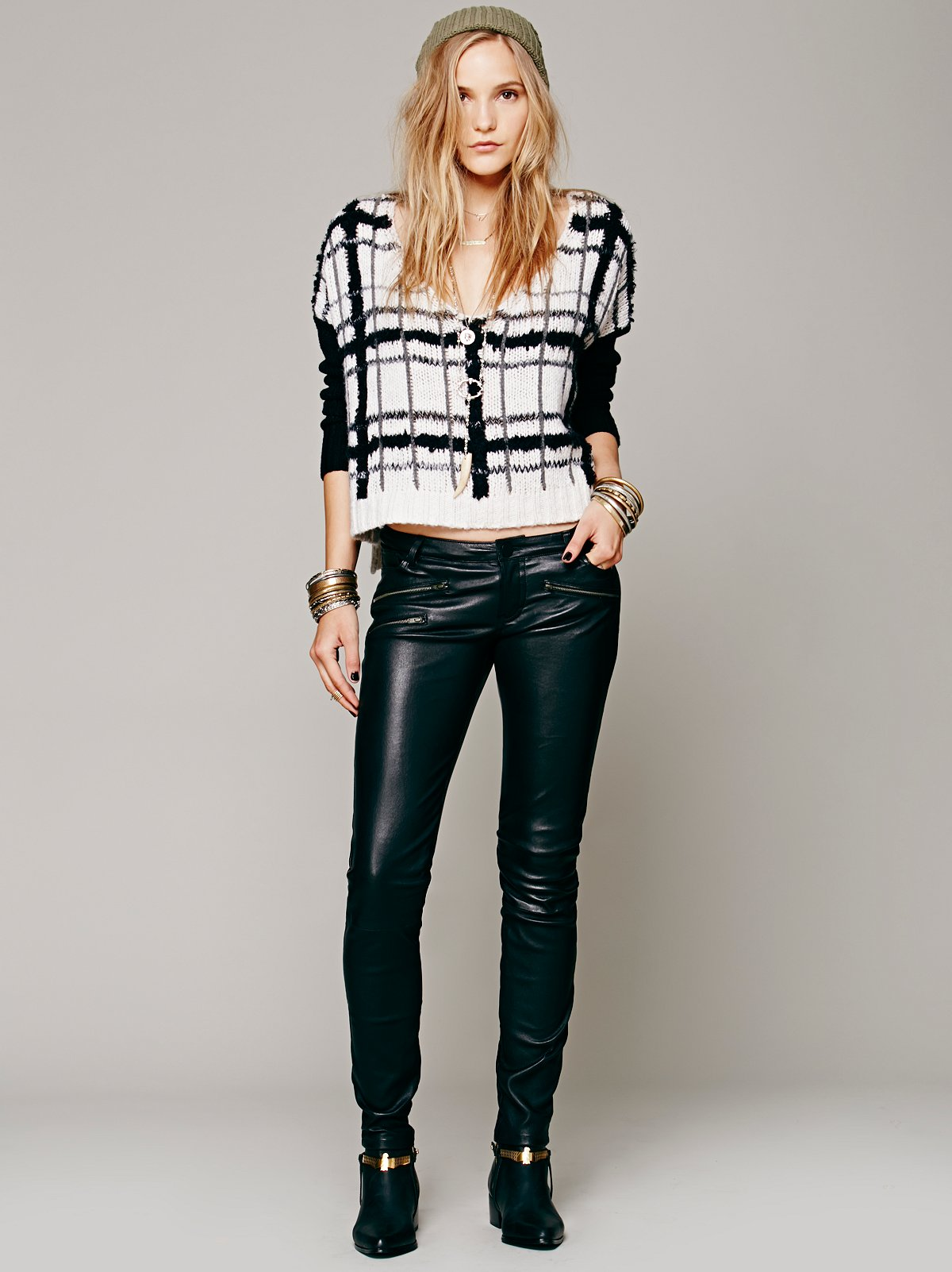 Marcel Leather Pant