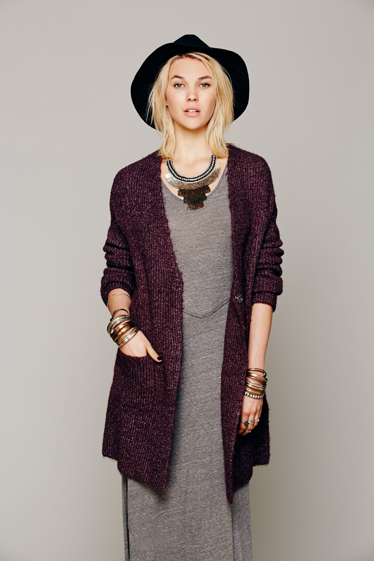 Oversized Sweater Coat at Free People Clothing Boutique