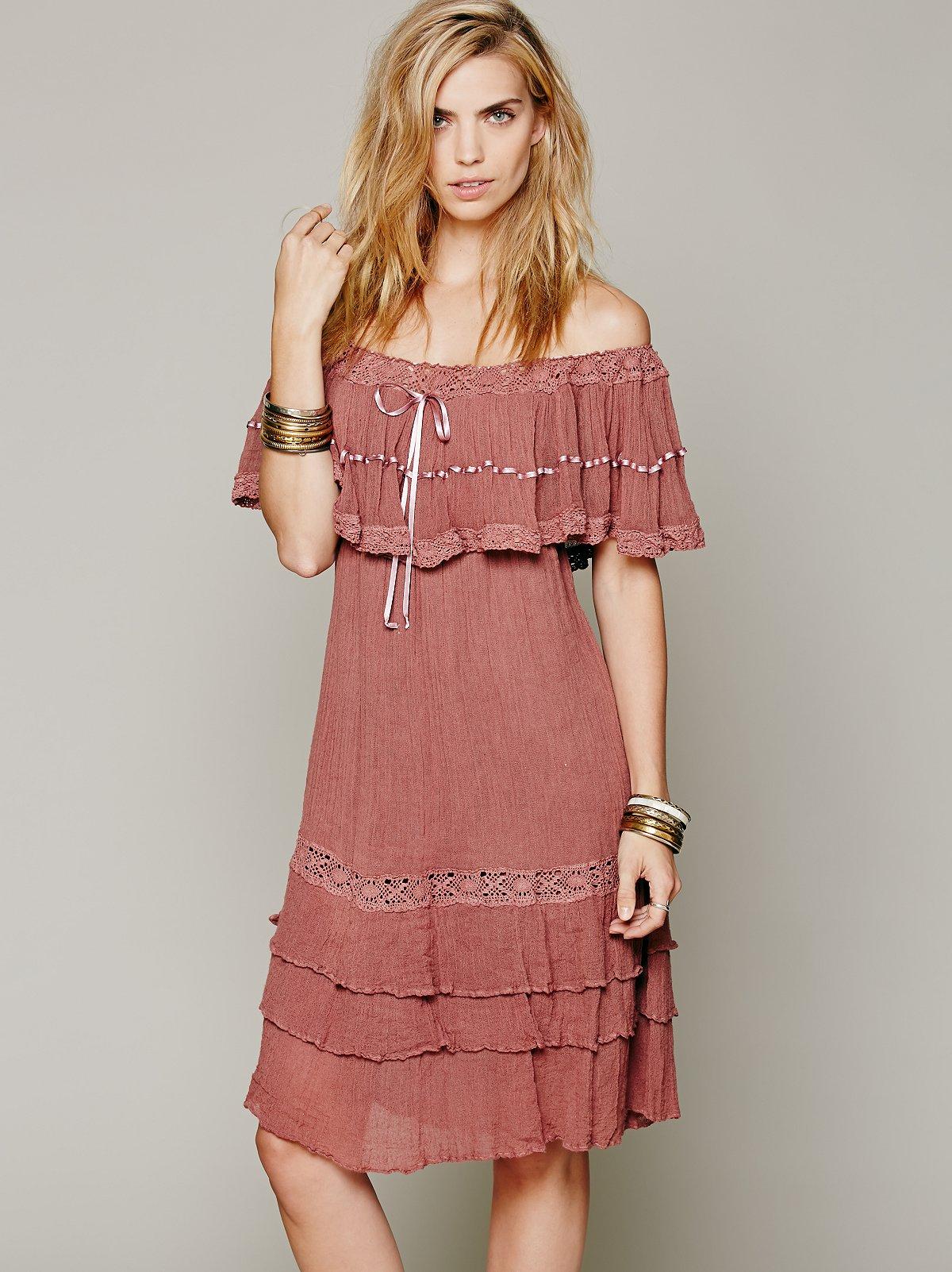 Athena Off-The-Shoulder Dress