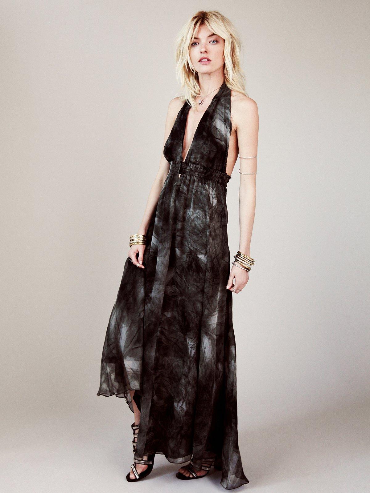 Fancy Smoke Gauze Dress