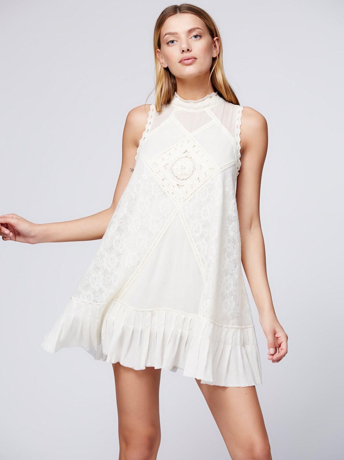 FP ONE天使蕾丝连衣裙