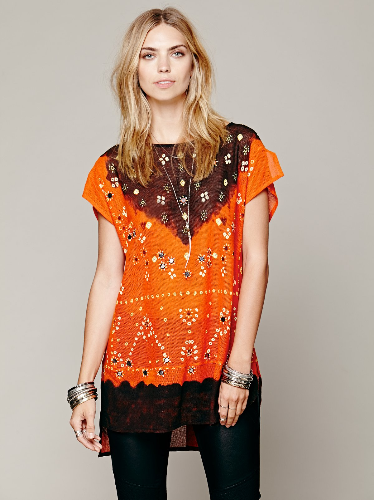 FP New Romantics Smoke Mirrors Tunic