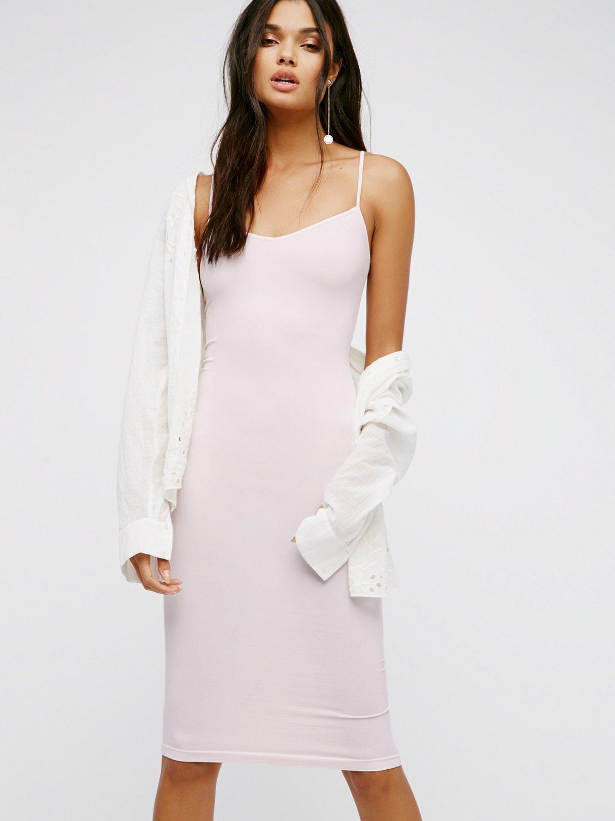 长款无缝连衣裙
