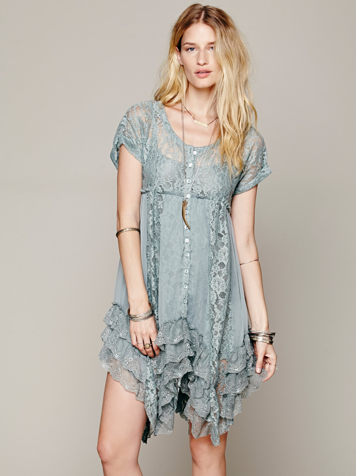 Prairie Ruffle Dress