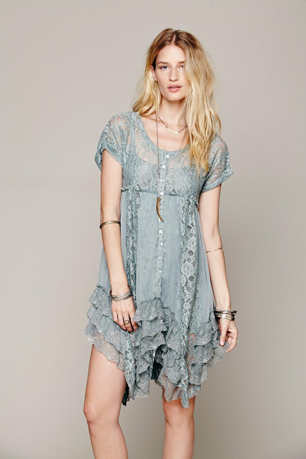 Prairie Ruffle Dress