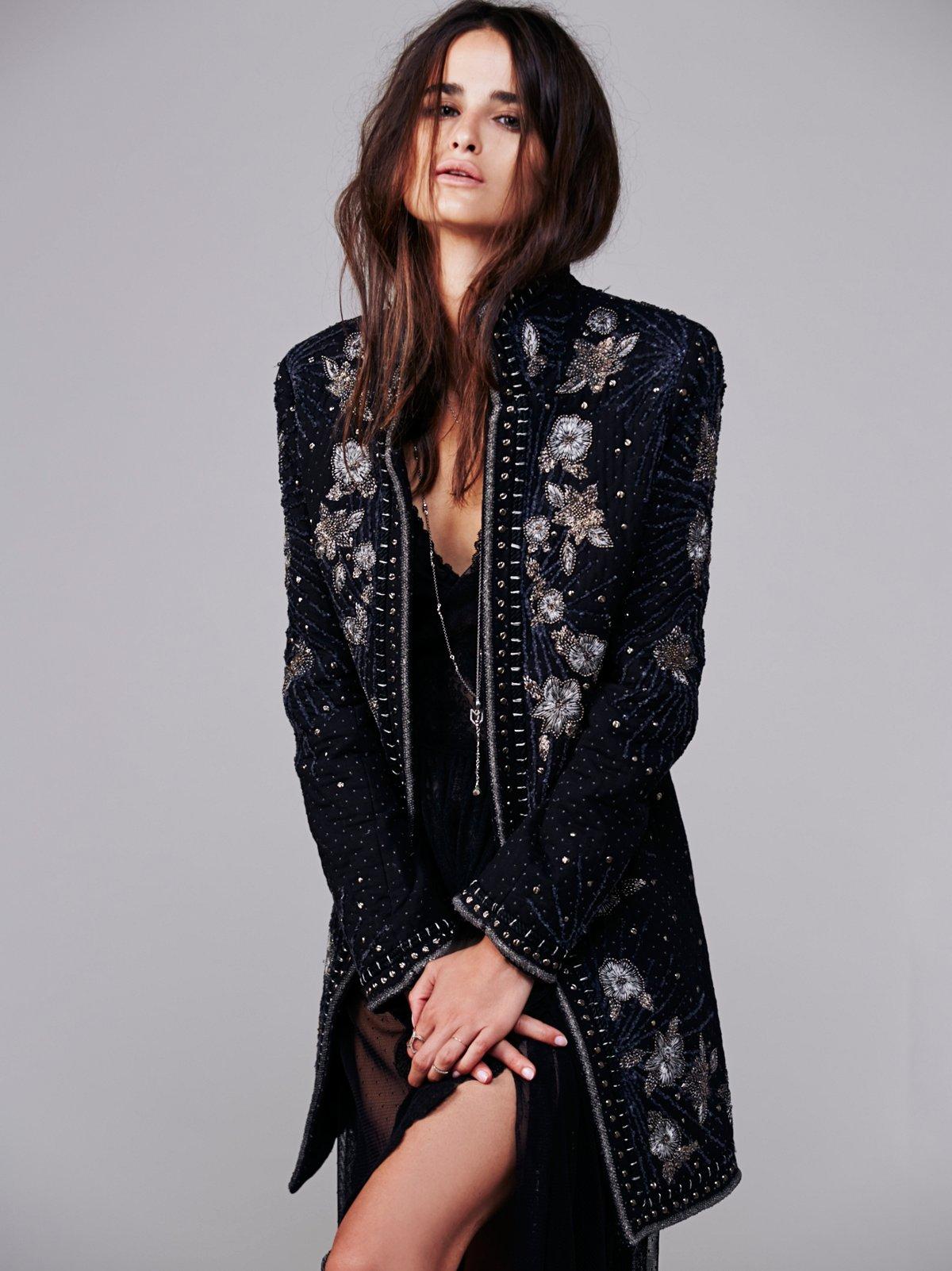 Marani Embellished Coat
