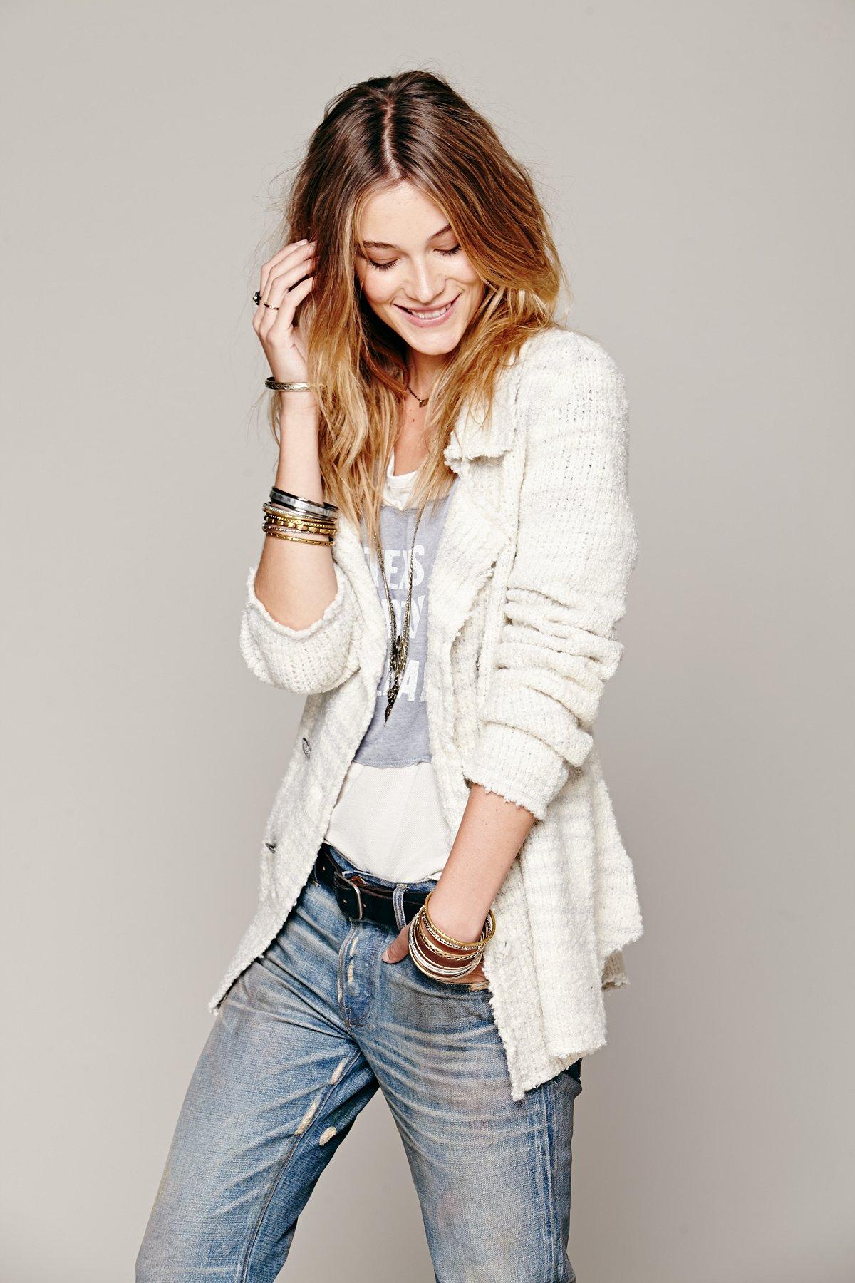 Zebra Sweater Jacket