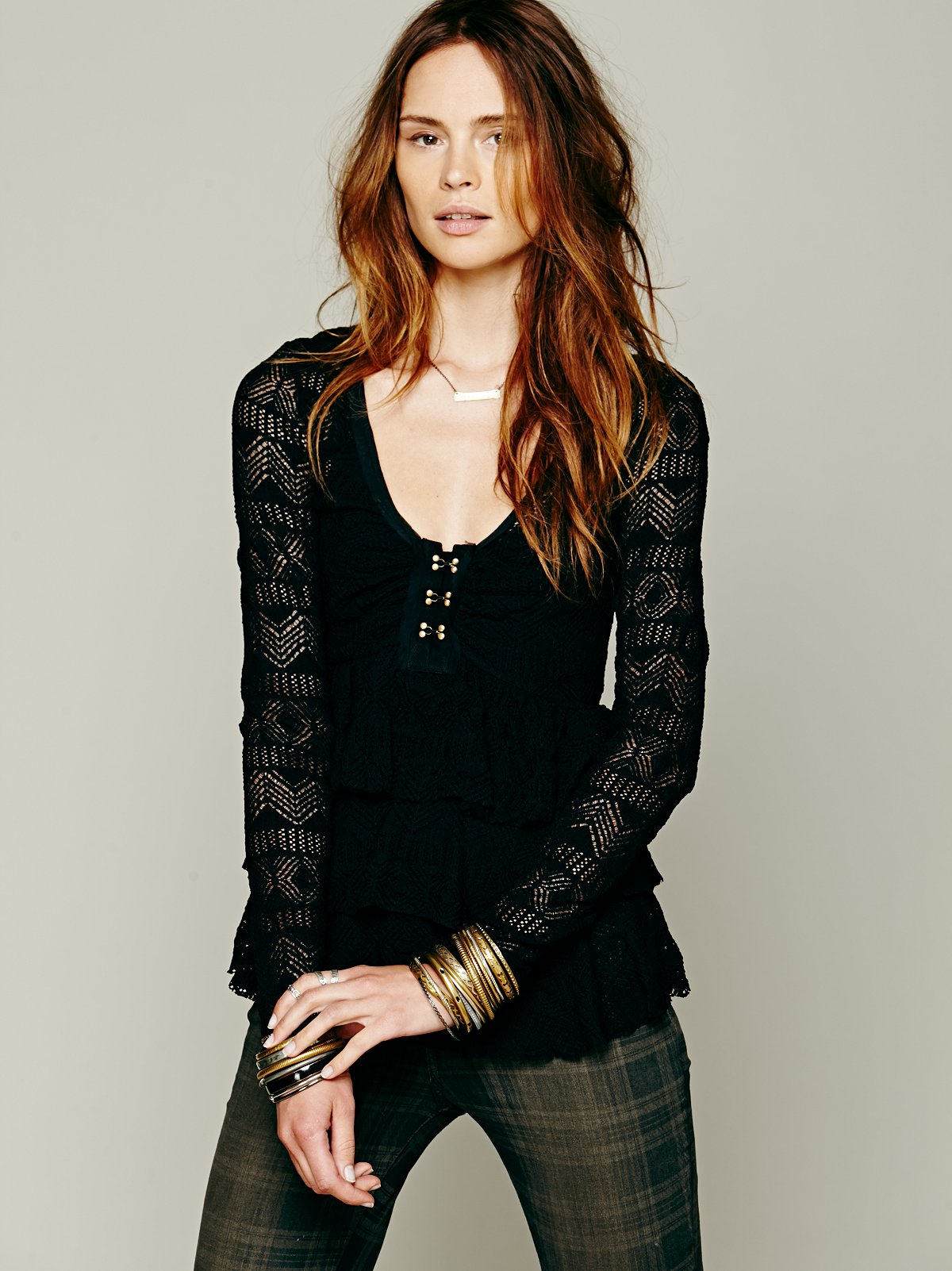 Sweet Dreams Lace Top