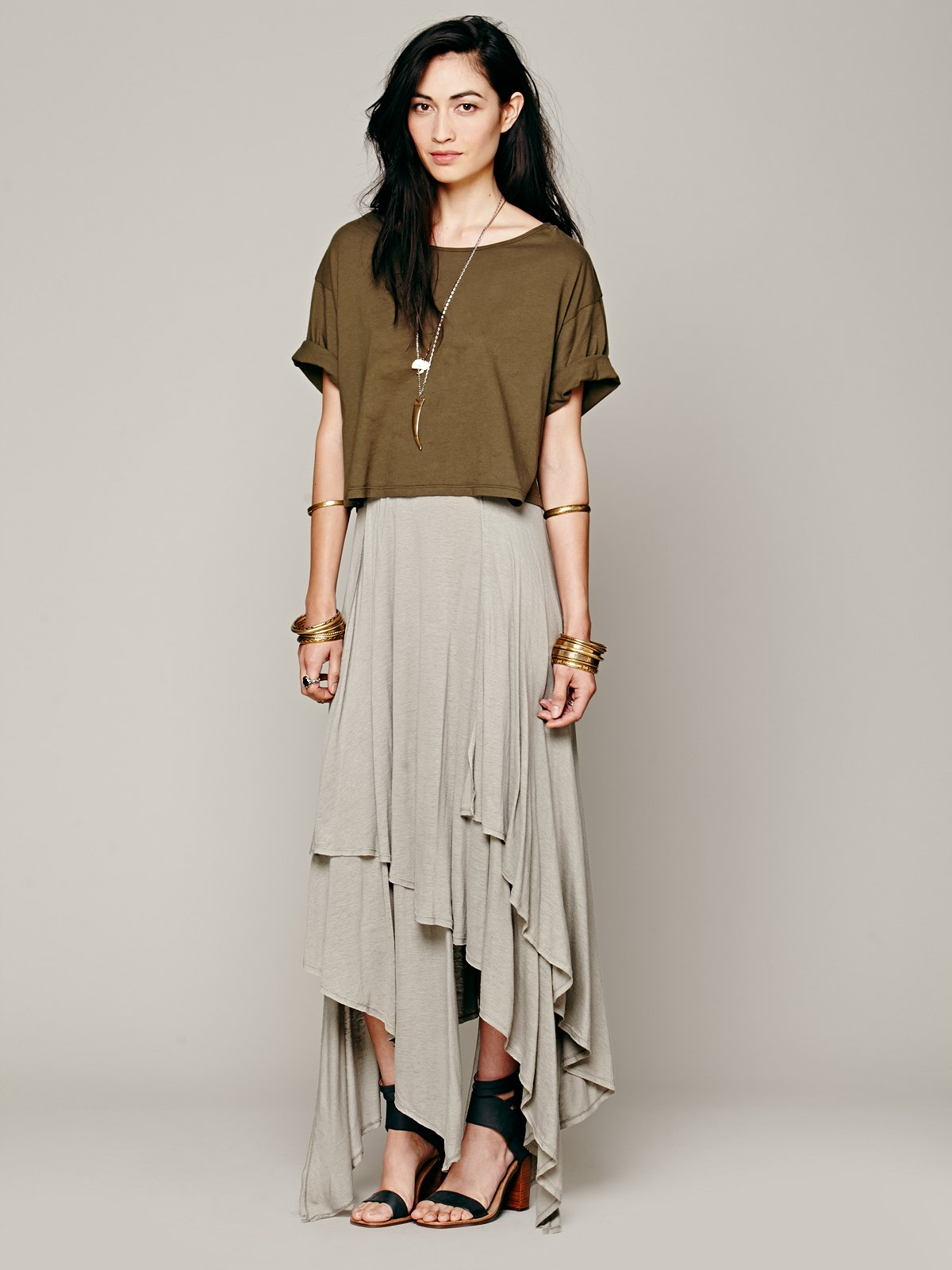 Layered Convertible Skirt