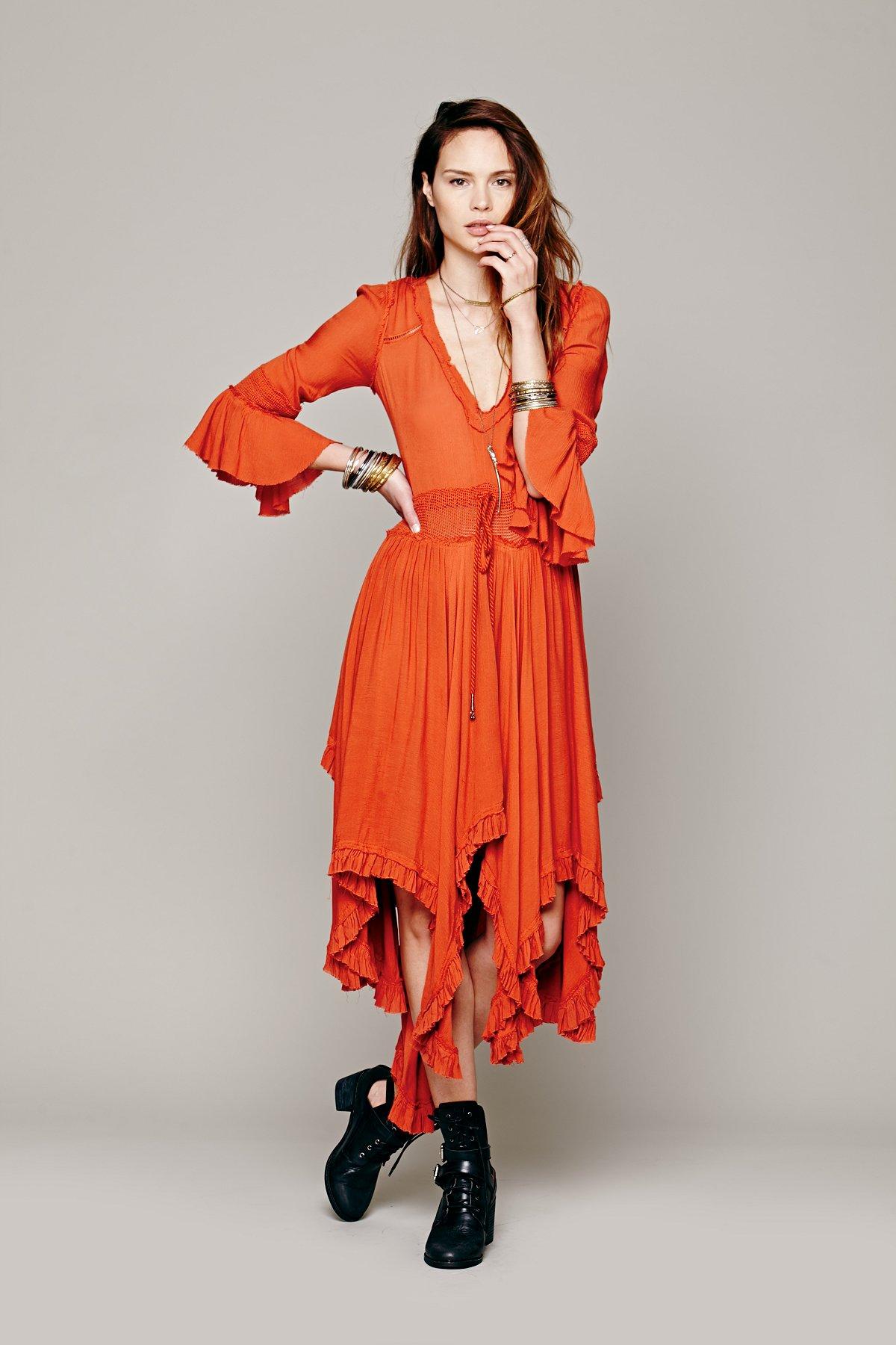Roomy Ruffle Dress