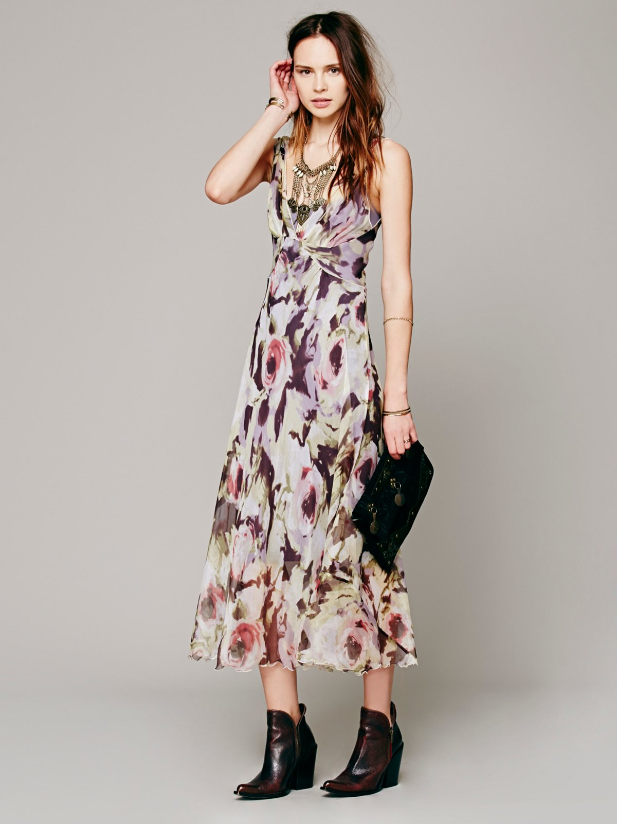 Jocelyn Printed Maxi