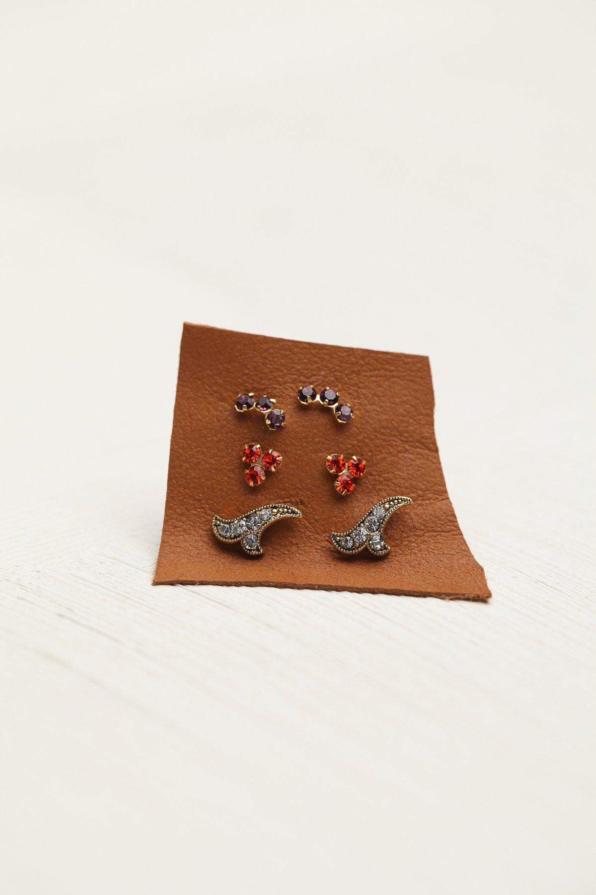 Tiny Cluster Set of 6 Studs