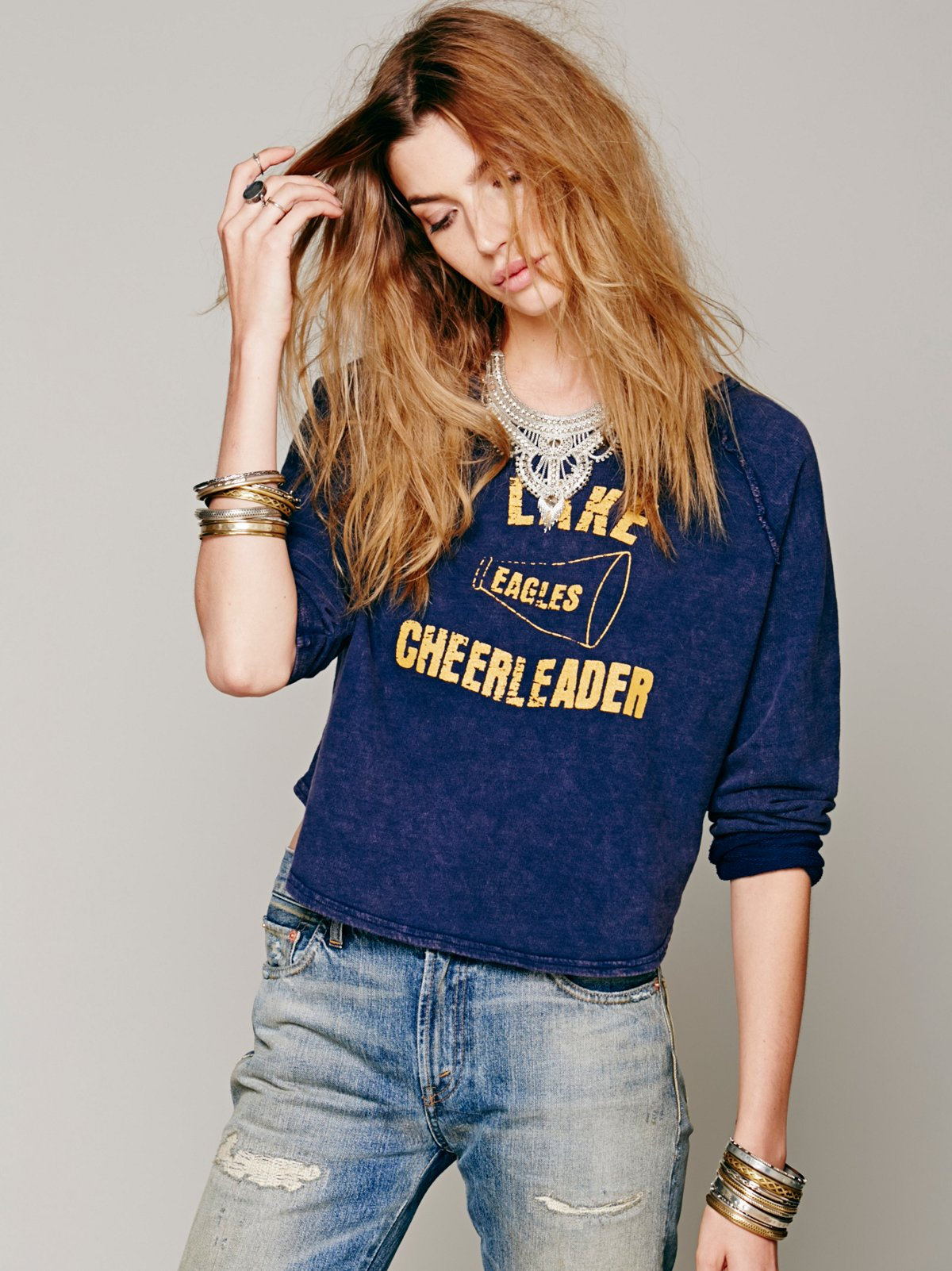 Cheerleader Pullover