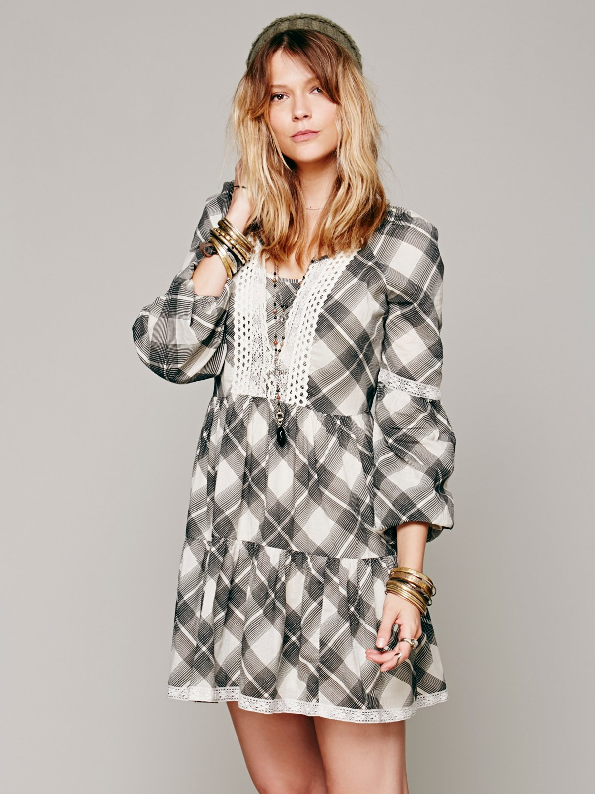 Constantine Plaid Dress