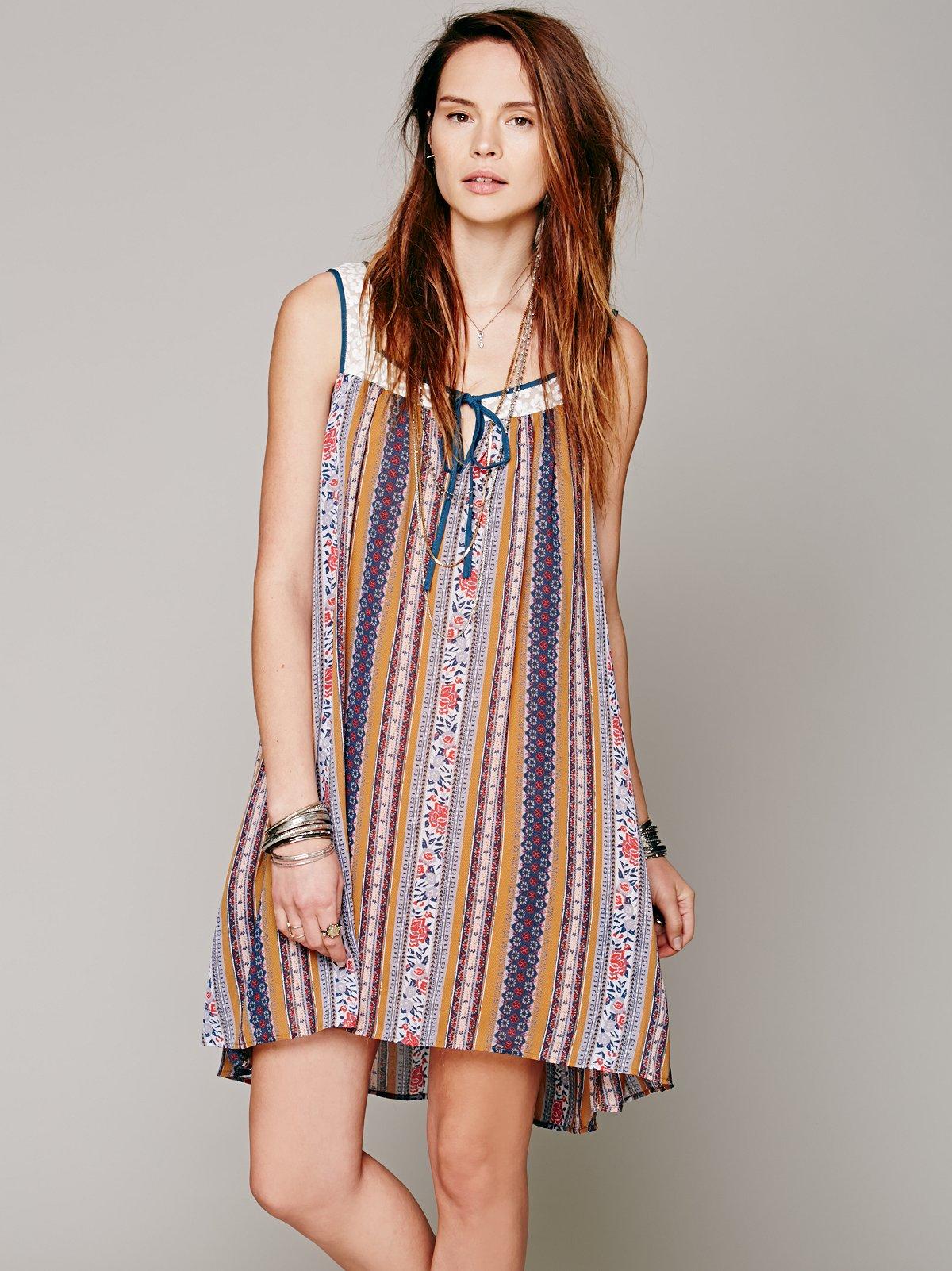 Toyko Tea Print Dress
