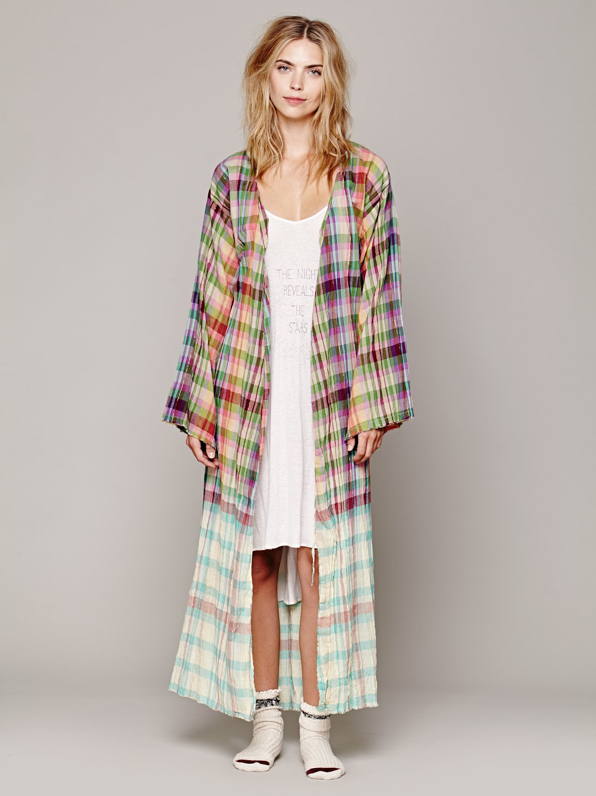 FP ONE Madras Robe