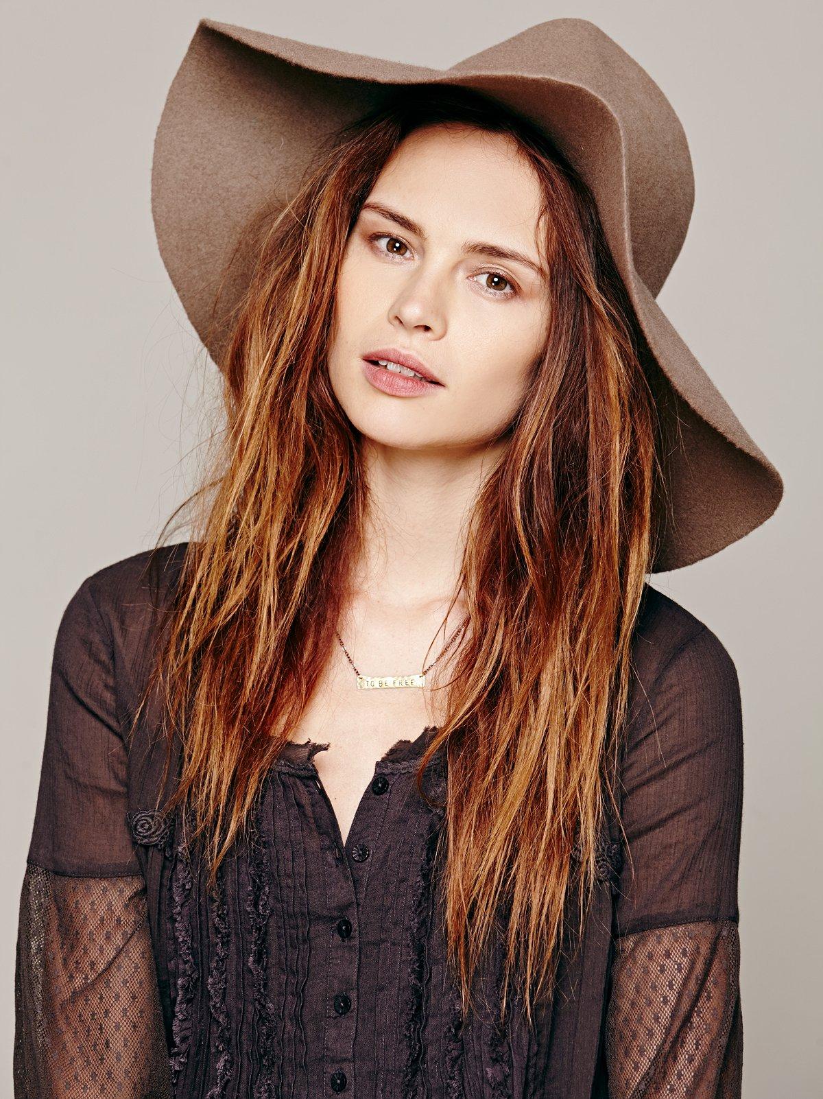 Mink Felt Hat