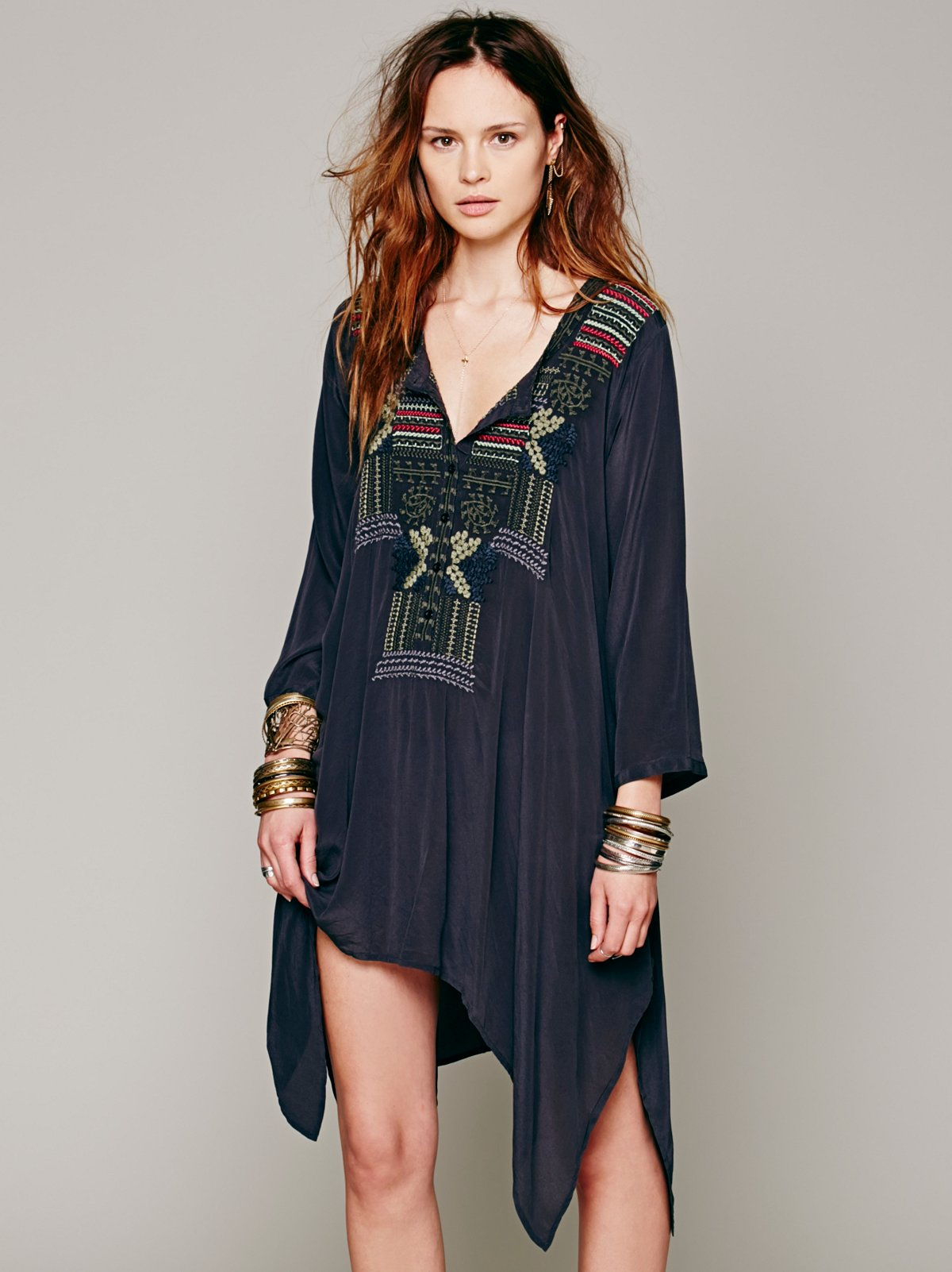 Thalia Embroidered Tunic
